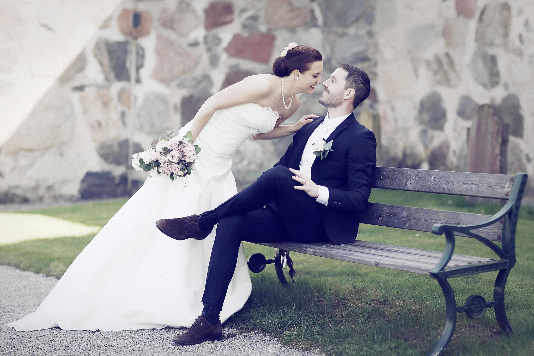 Bröllopsporträtt 11: Caroline/Tobias