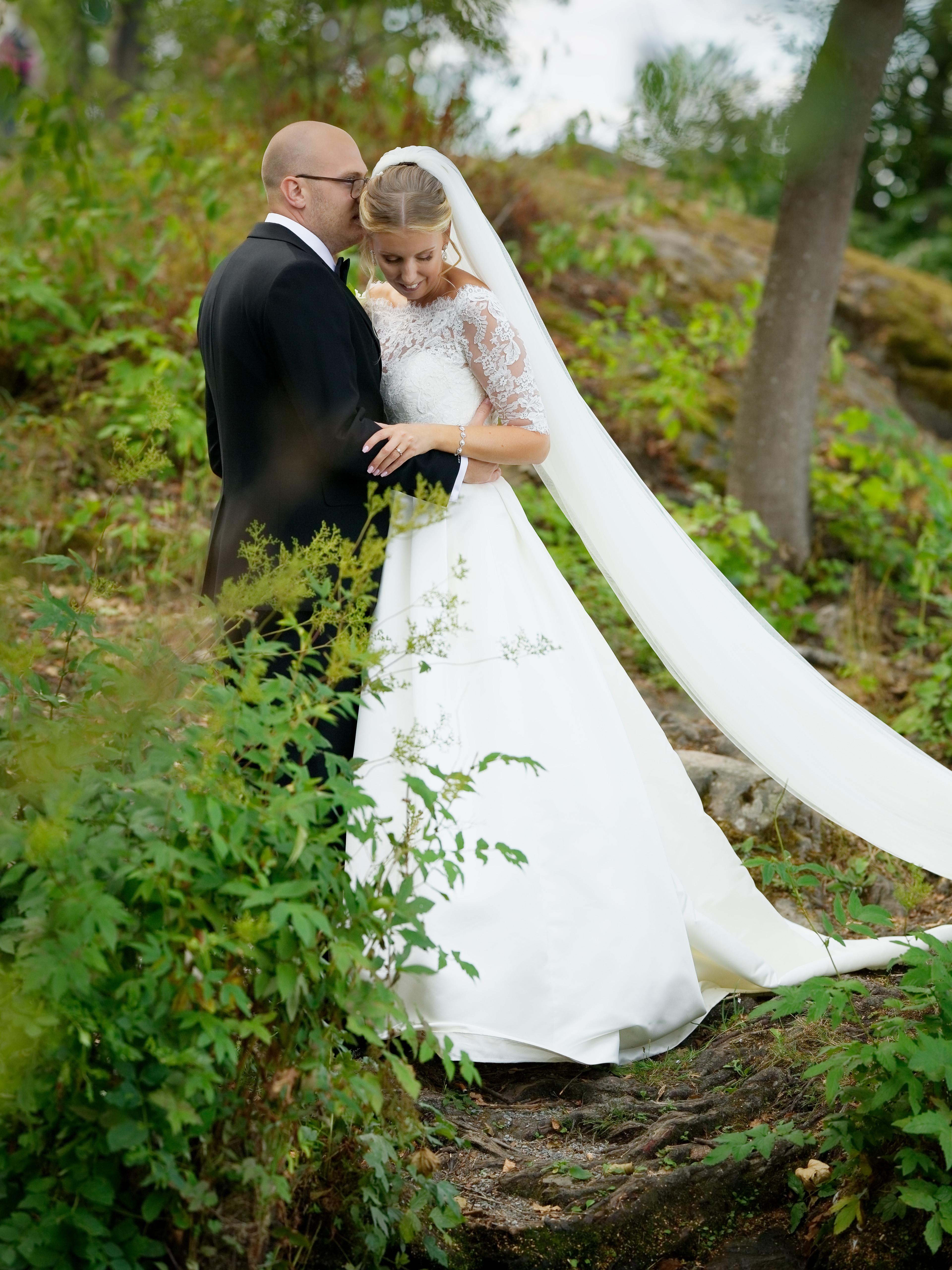 Jens och Elin - bröllopsporträtt 3