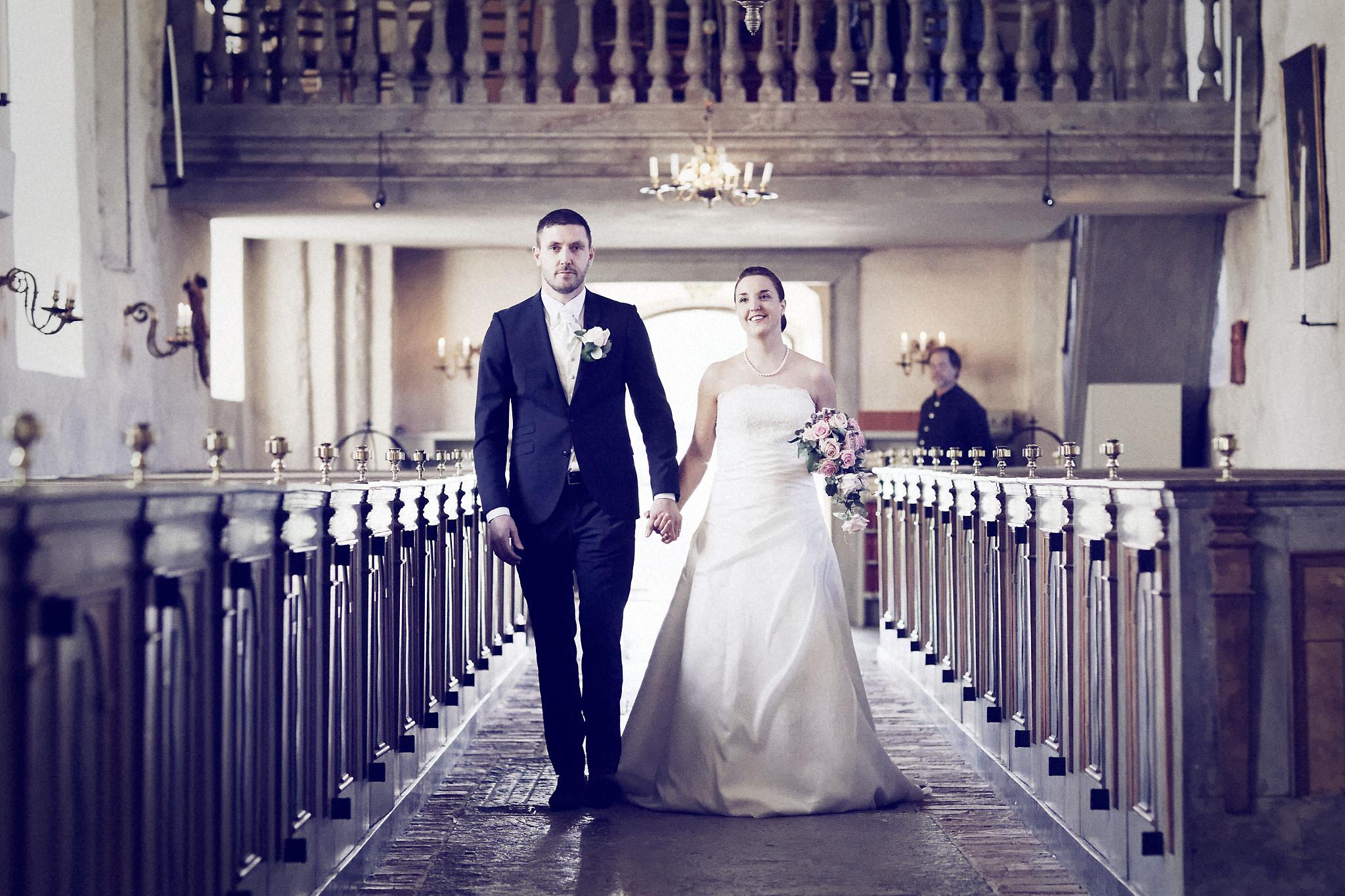 Bröllopsceremoni 1: Caroline/Tobias