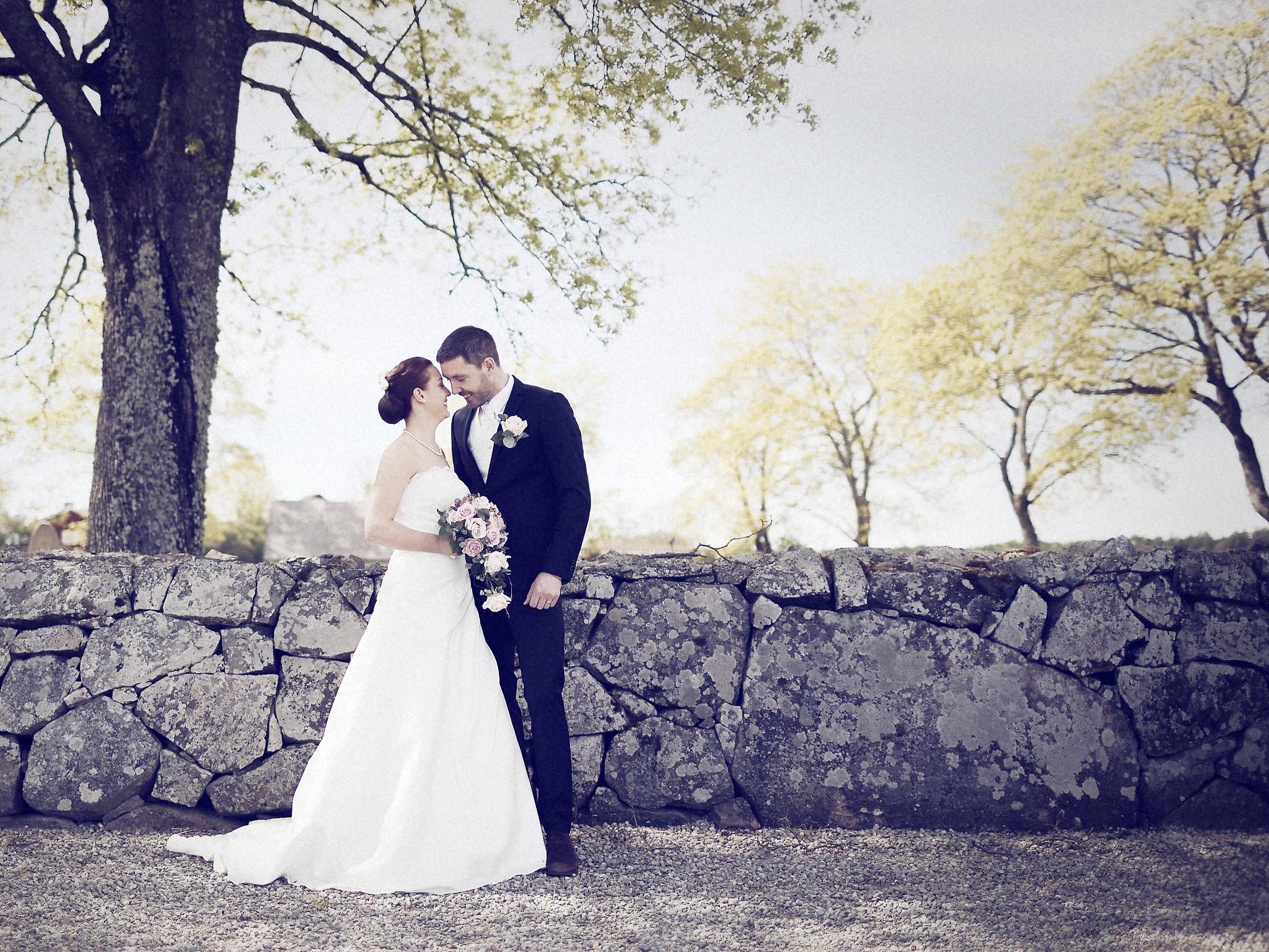 Bröllopsporträtt 3: Caroline/Tobias