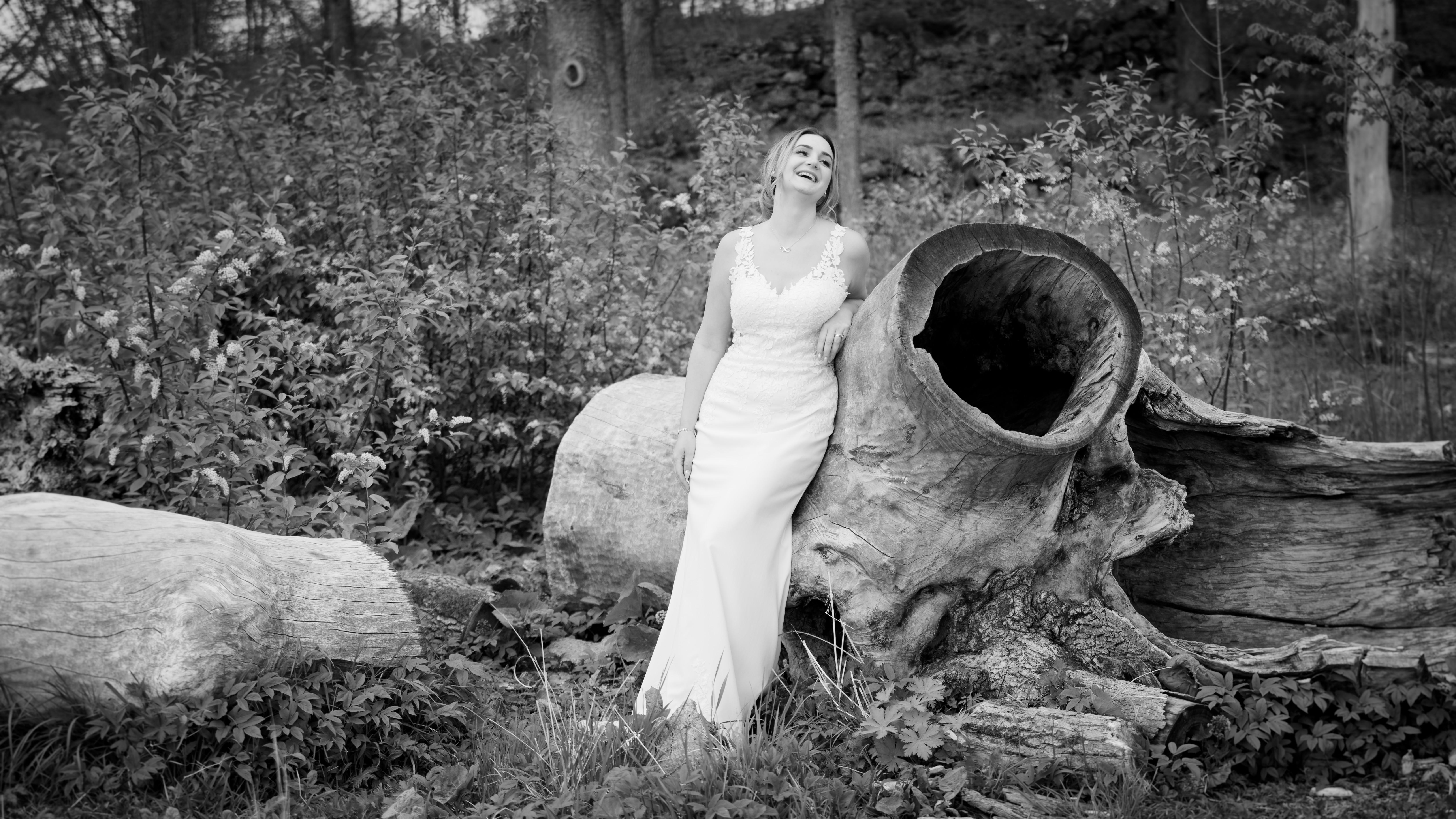Nanna, bröllopsporträtt 1