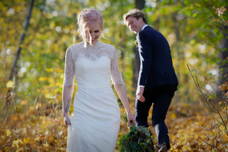 Bröllopsporträtt 4 - Ellen och Jakob