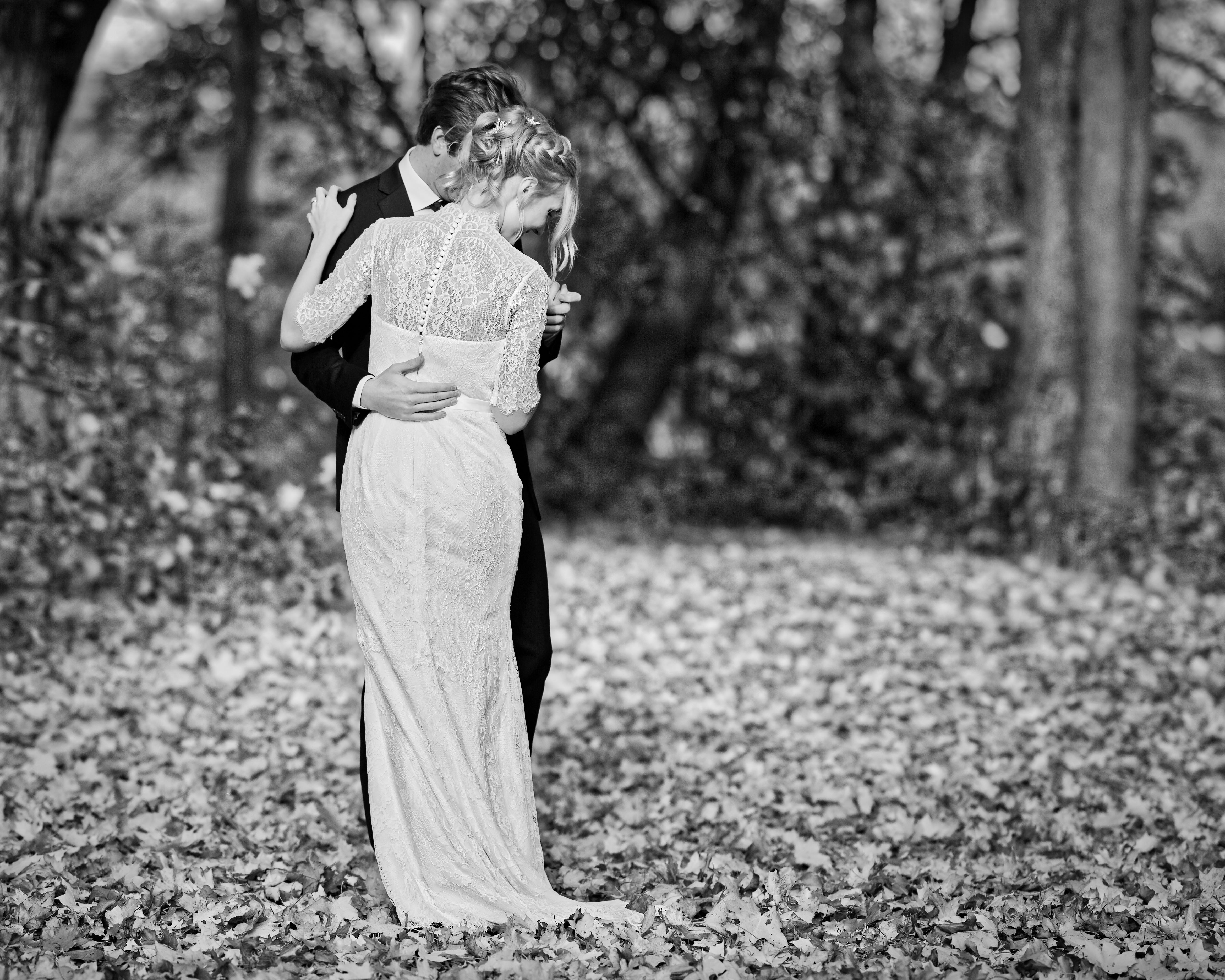 Bröllopsporträtt 5 - Ellen och Jakob