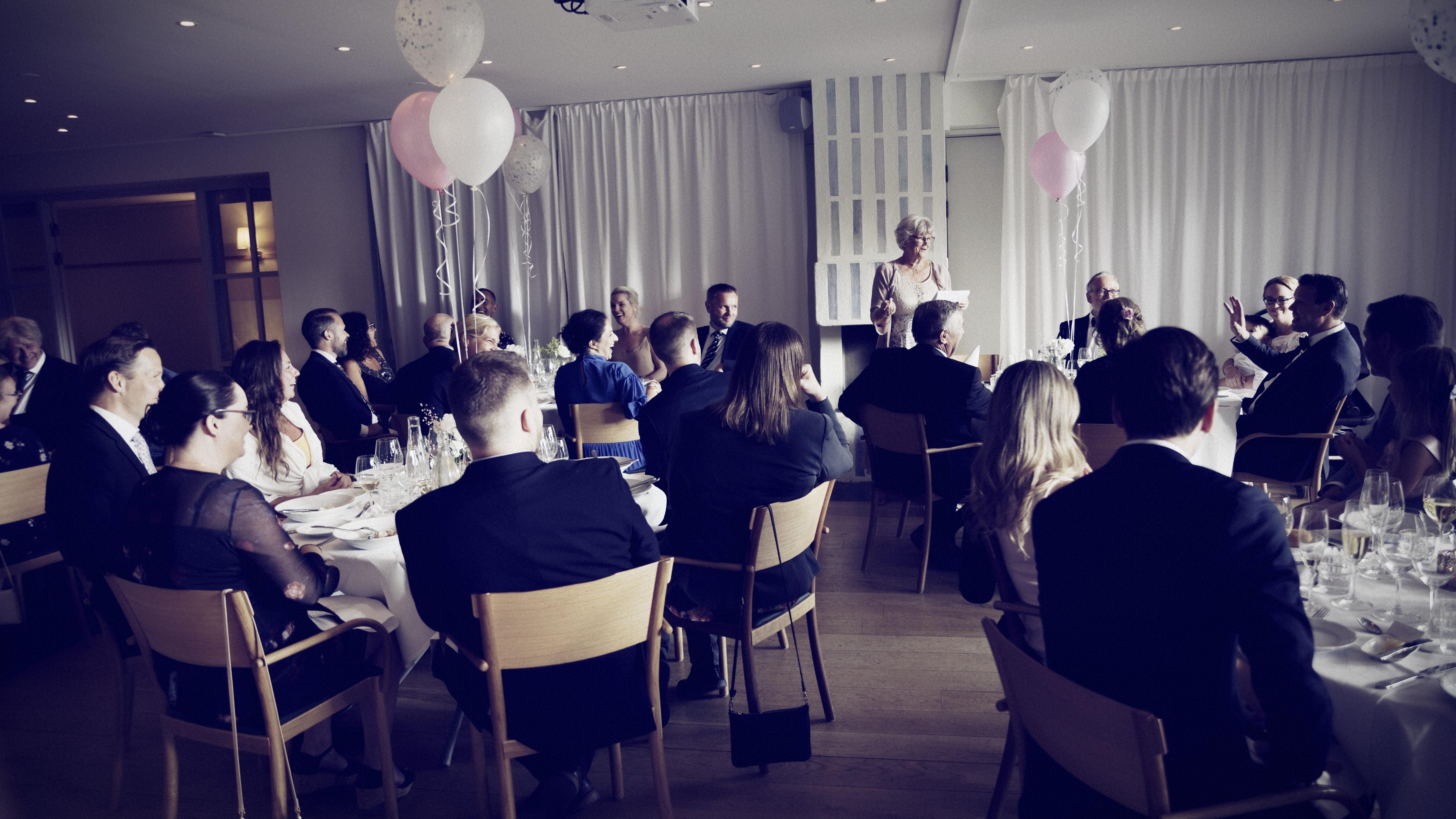 Bröllopsmiddag i Villa Källhagen 2