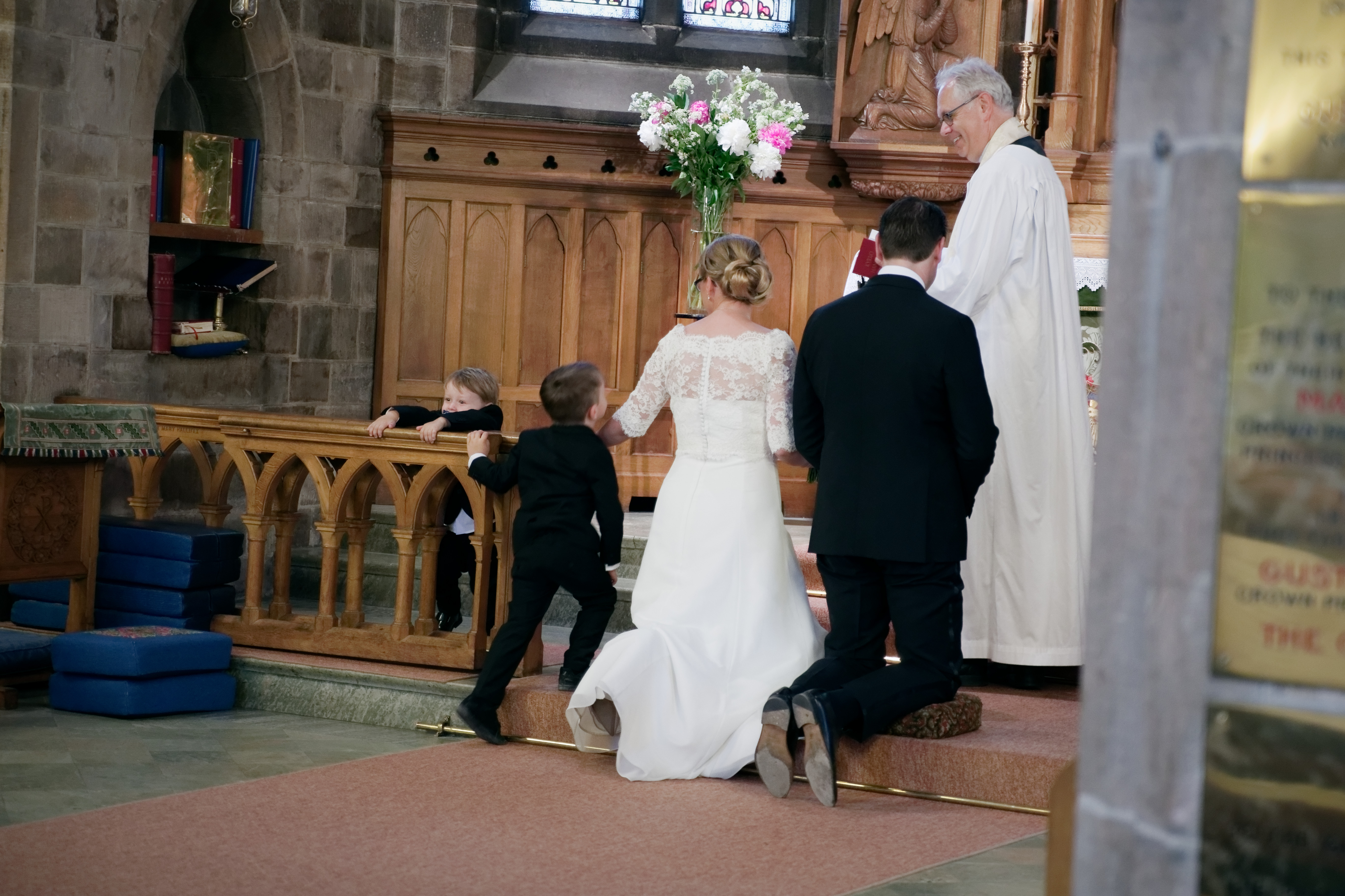 Vigselceremoni i Engelska kyrkan 2