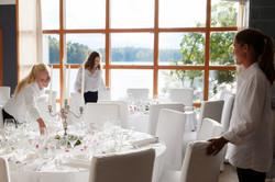 Bröllopsdukning, Villa Soludden