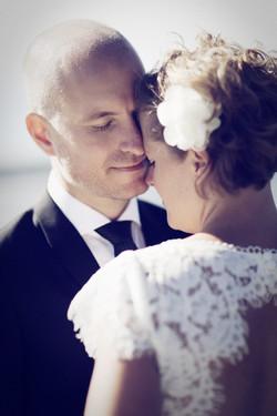 Bröllopsporträtt: Linda och Magnus