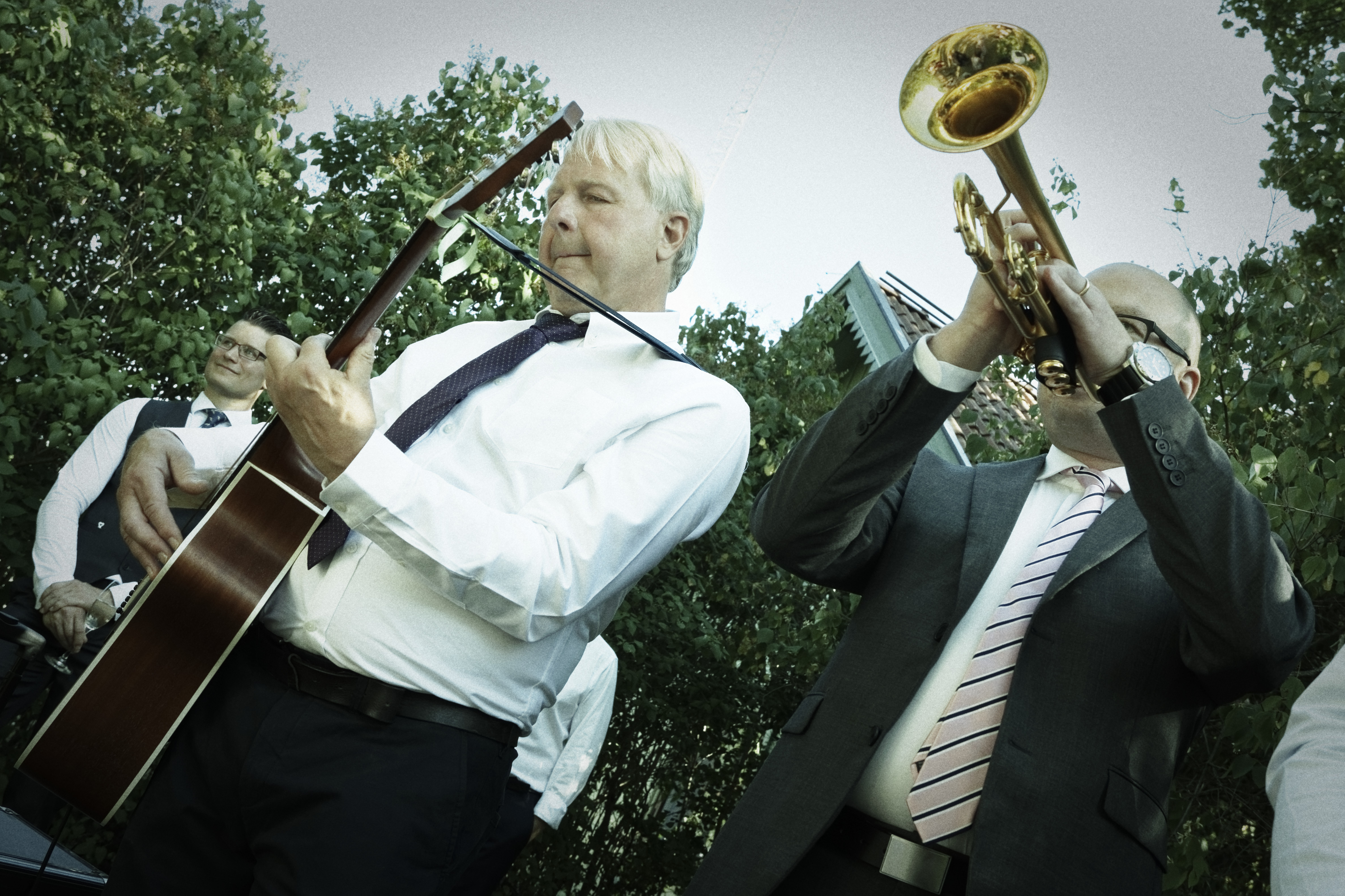 Marcus & Micaela - bröllopsmusikant