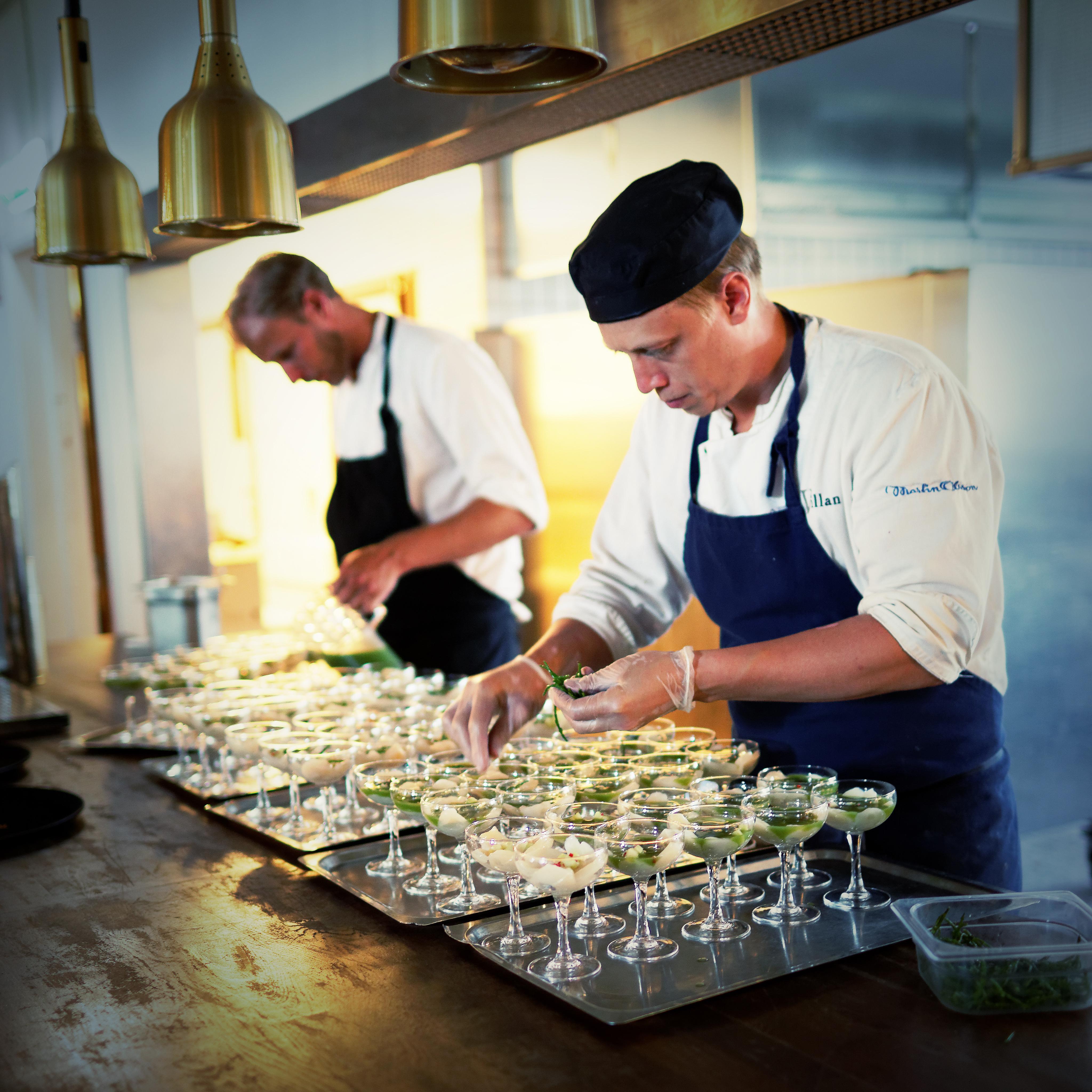 Bröllop - matlagning