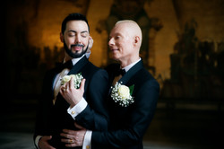 Bröllopsporträtt 2 - Javad och Peter
