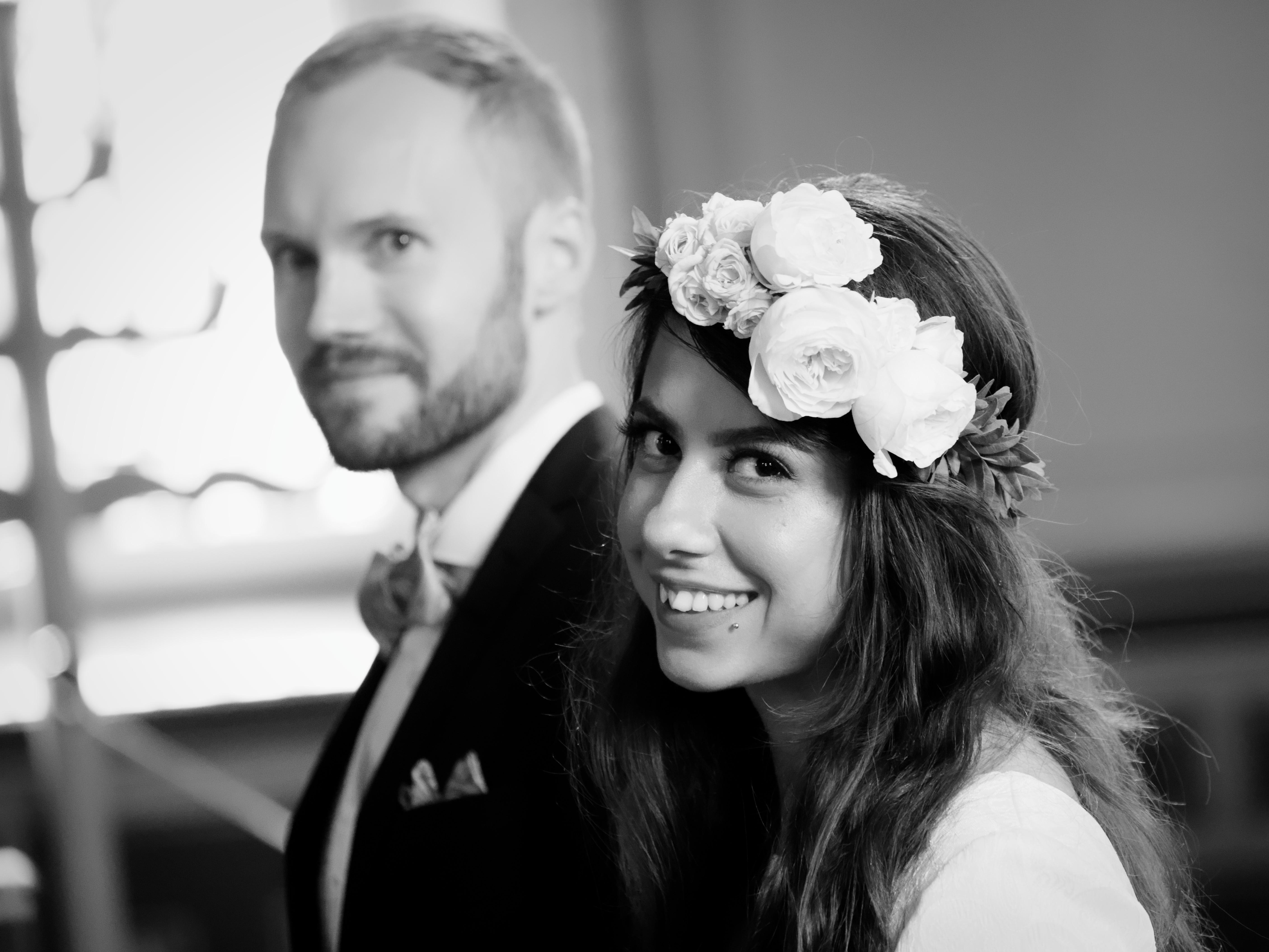 Bröllopsceremoni 2 - Mahdis & Tommy
