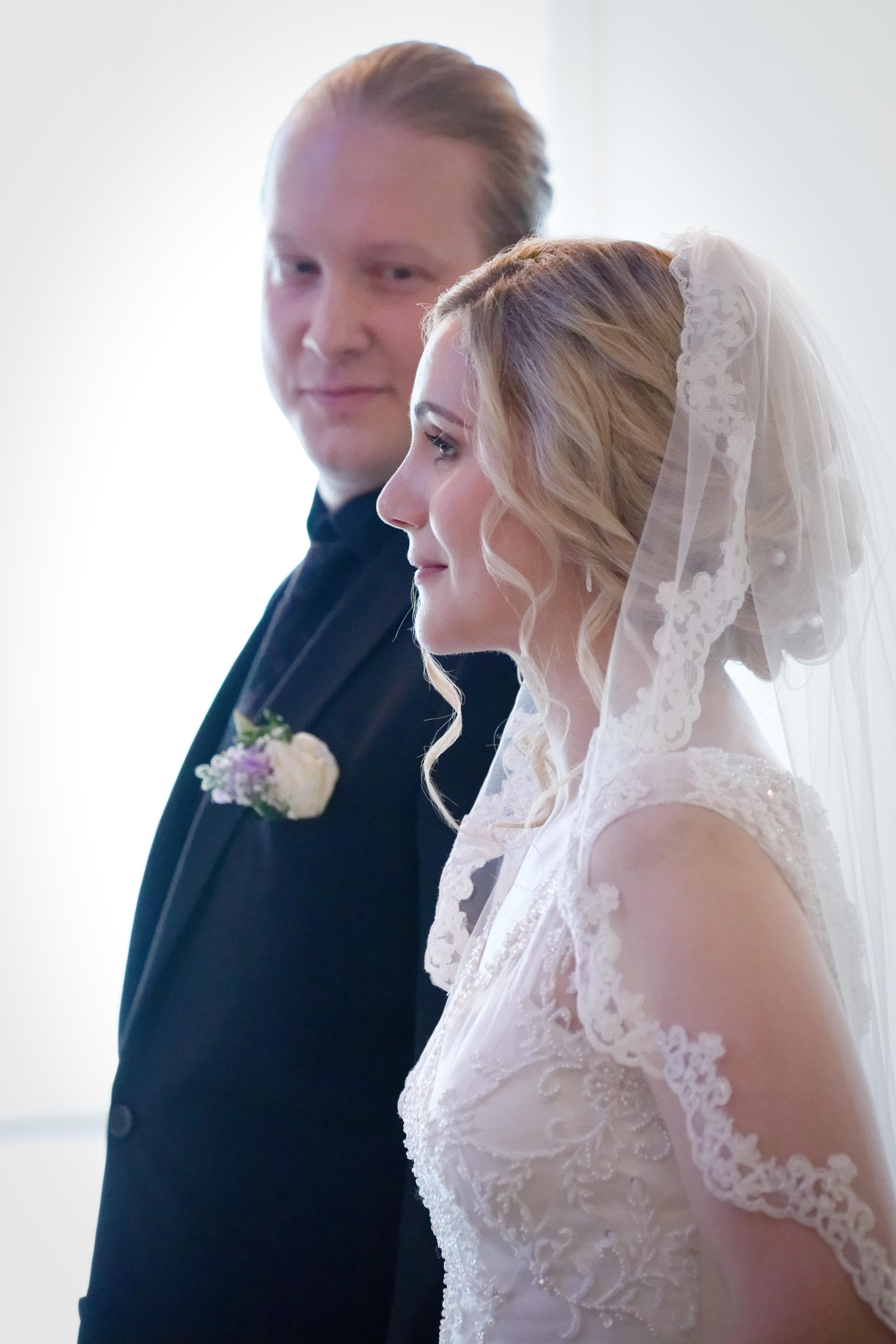 Bröllopsceremoni 5 - nygifta