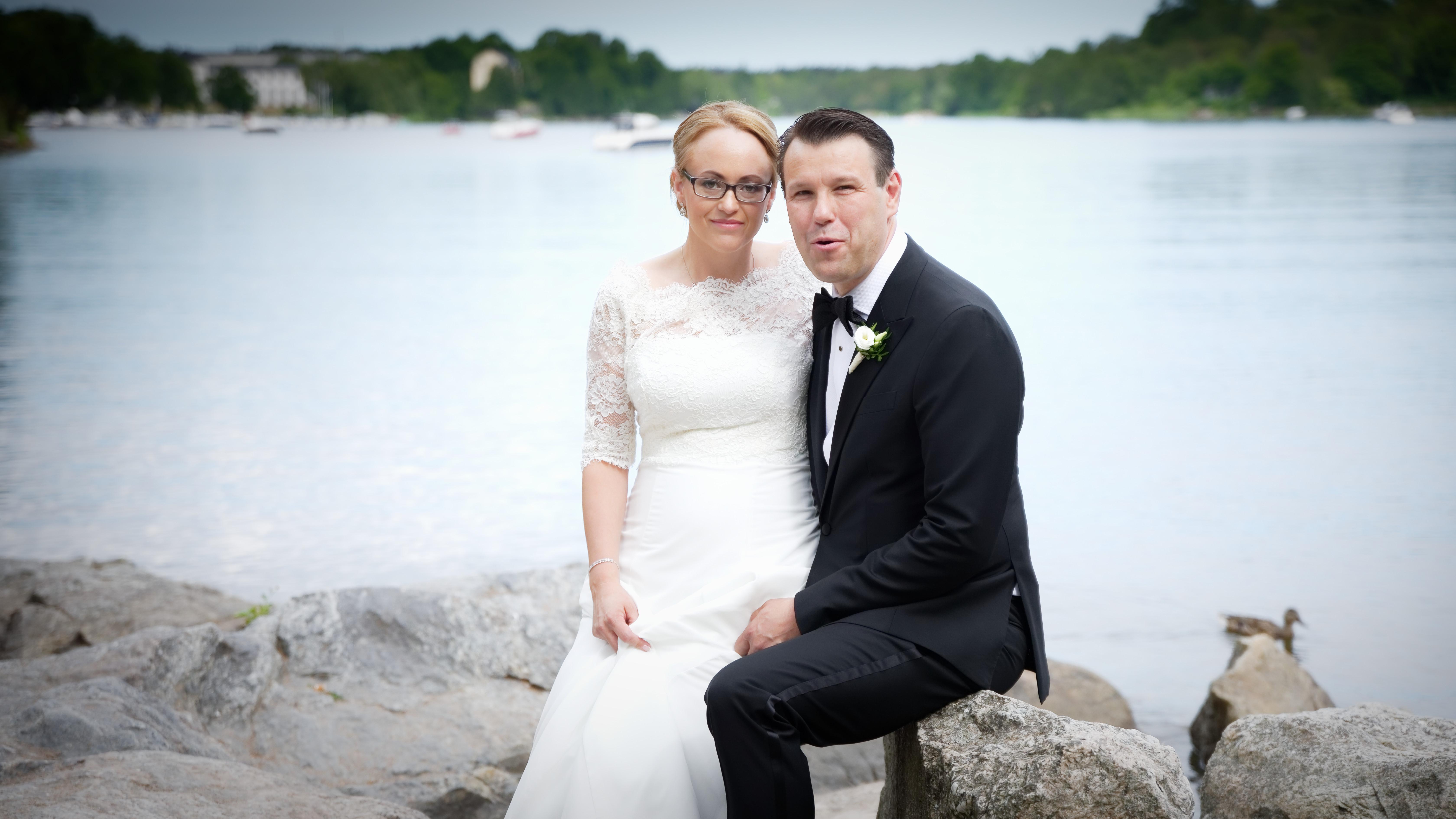 Bröllopsporträtt 1: Annika & Magnus