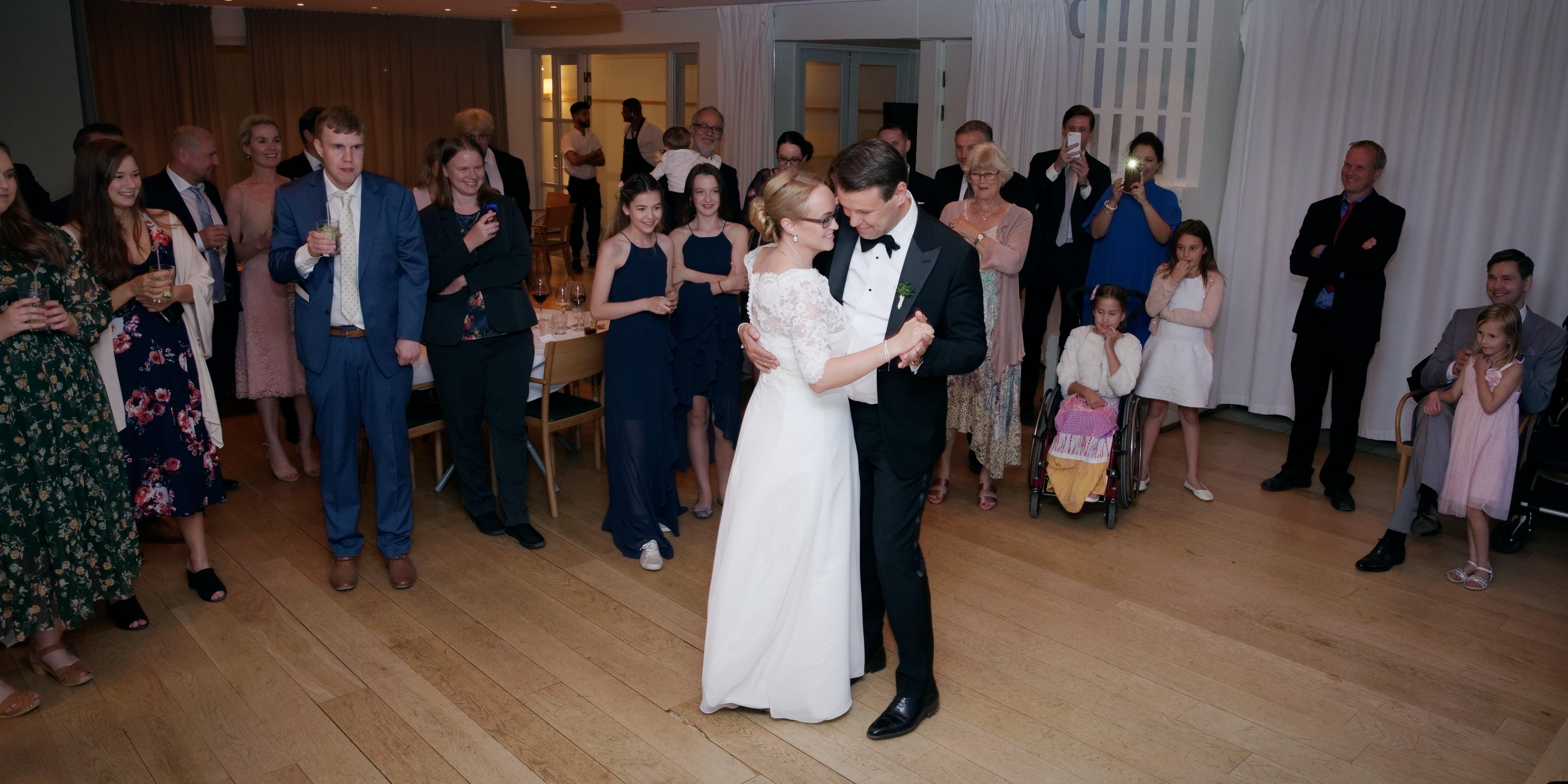 Brudvals i Villa Källhagen