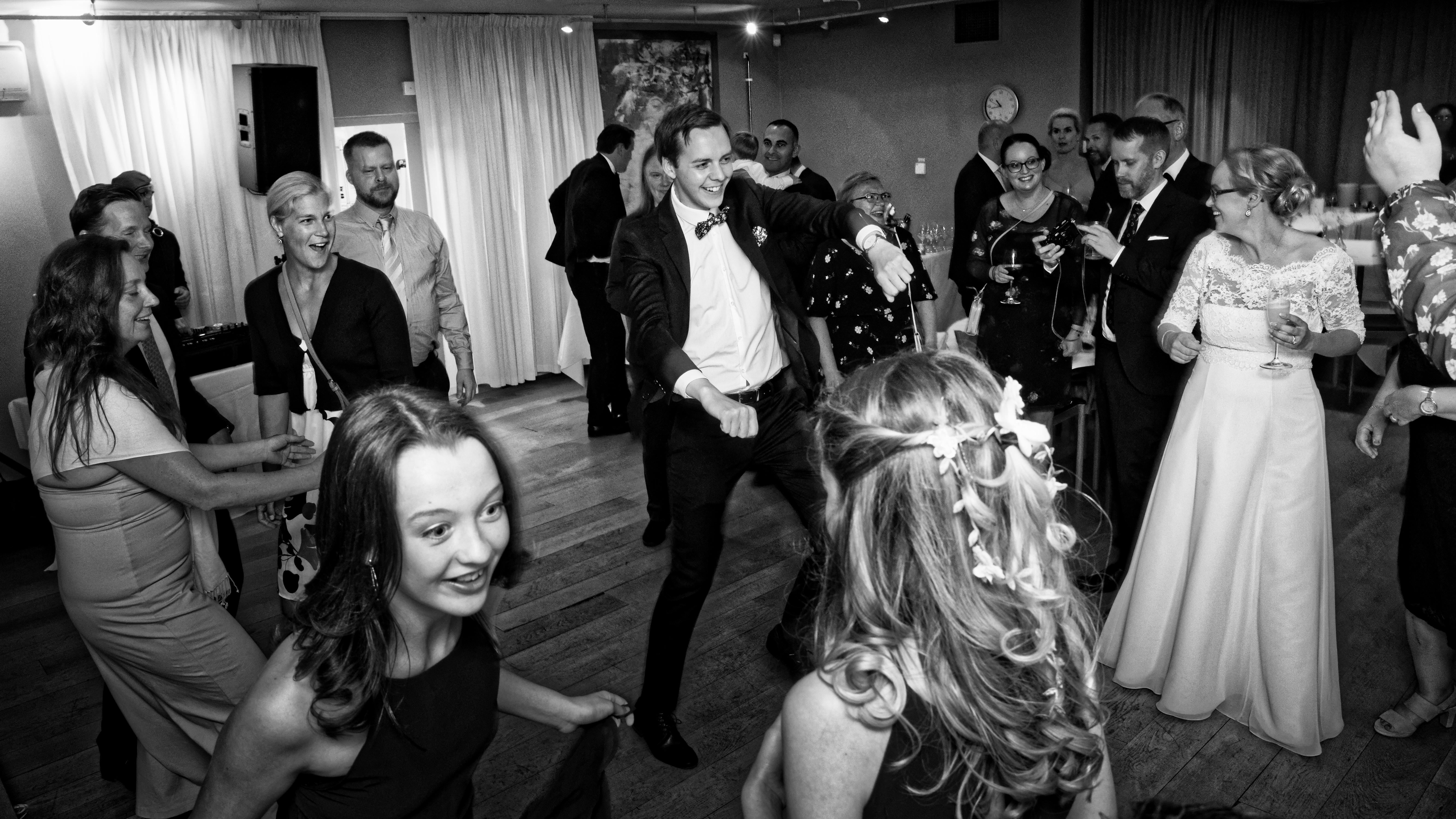 Bröllopsfest i Villa Källhagen