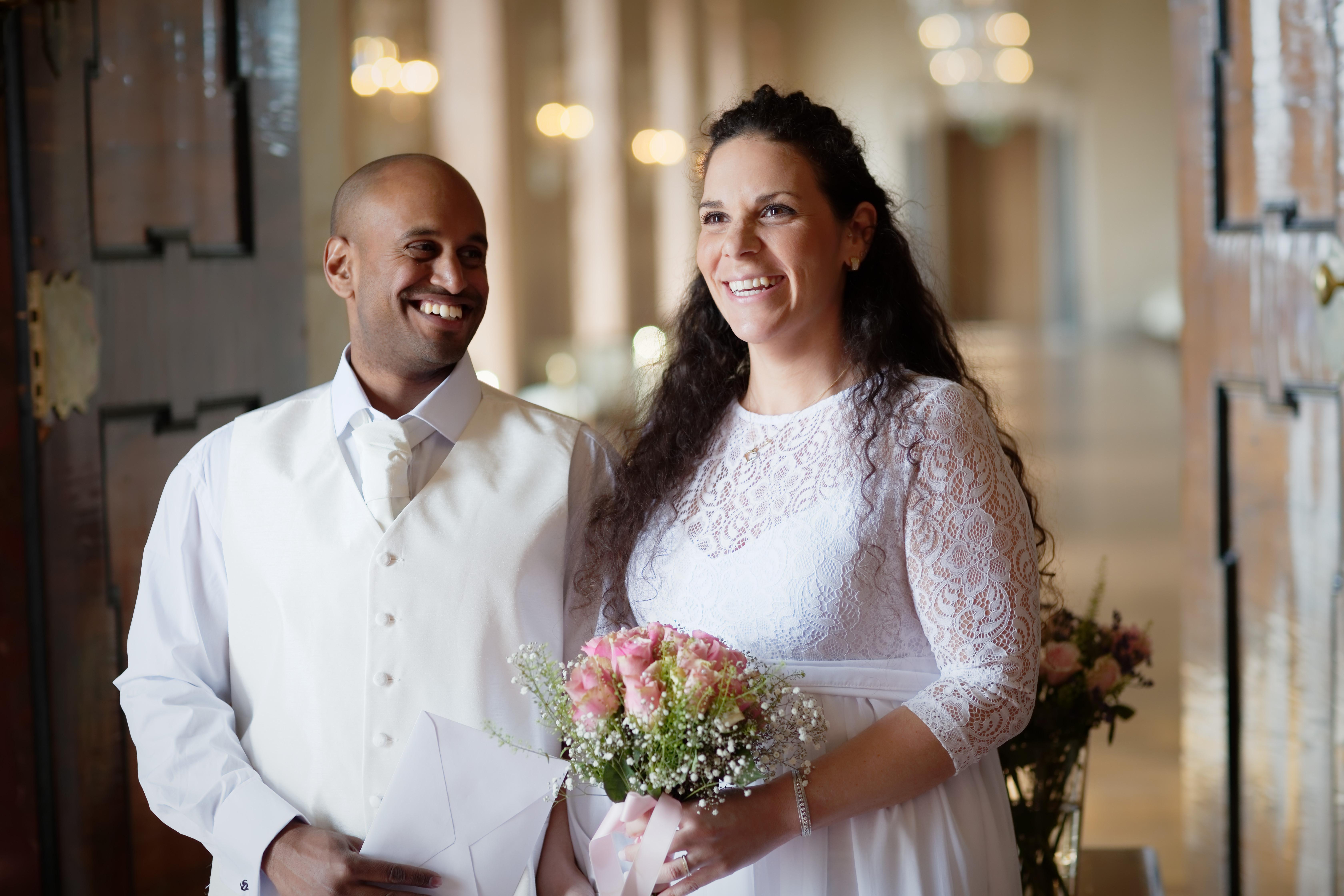 Nygifta sen 30 sekunder