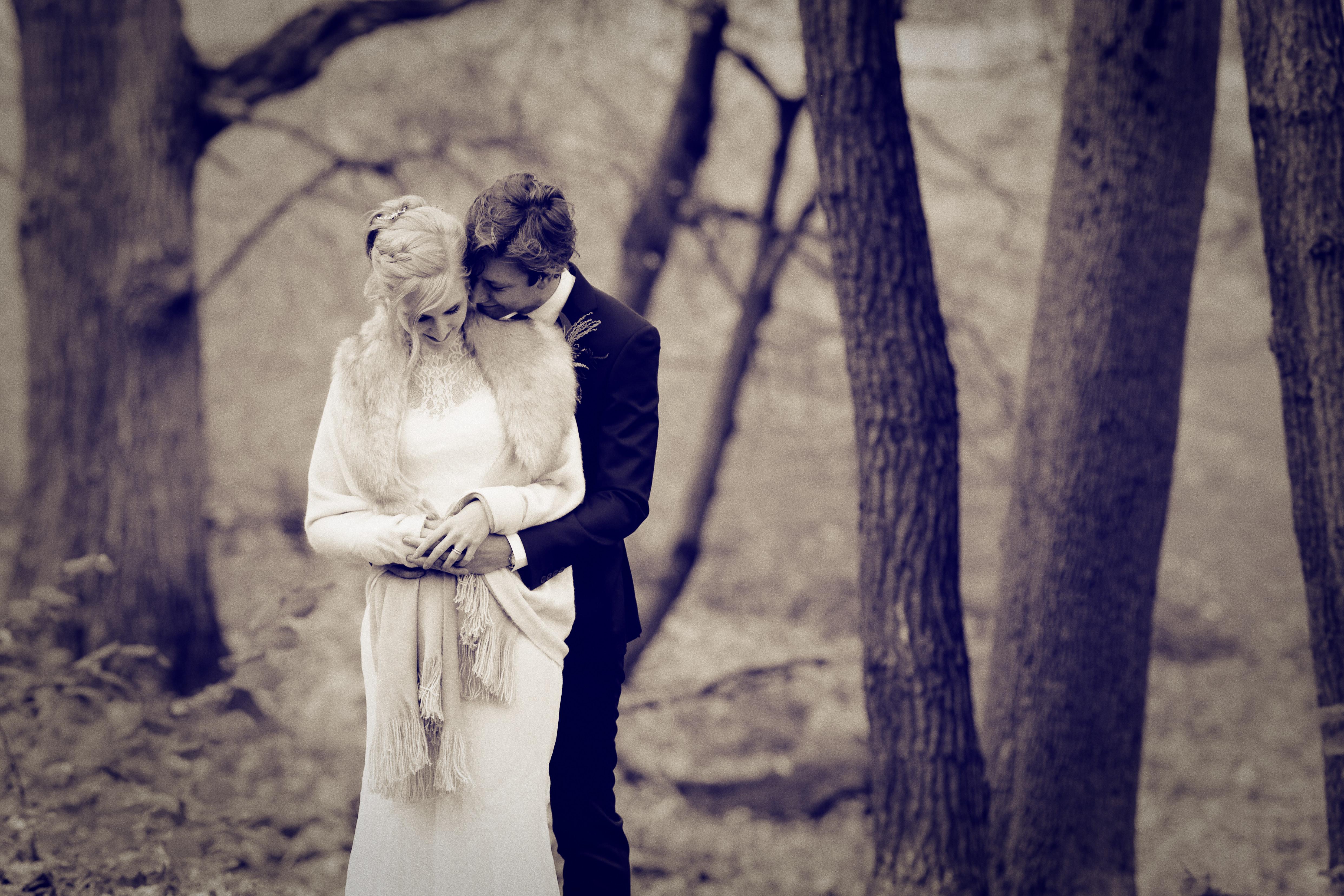 Bröllopsporträtt 2 - Ellen och Jakob