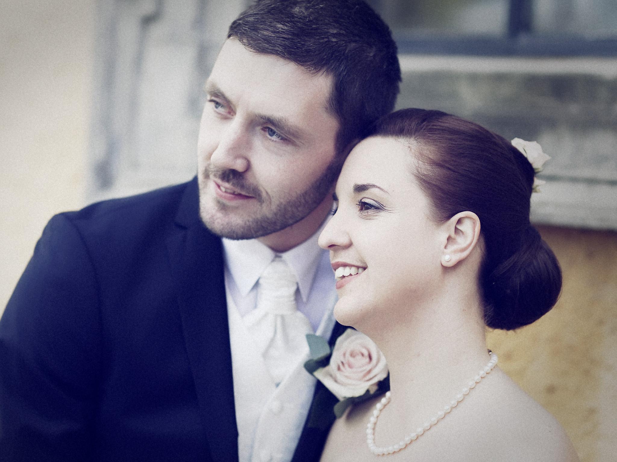 Bröllopsporträtt 5: Caroline/Tobias