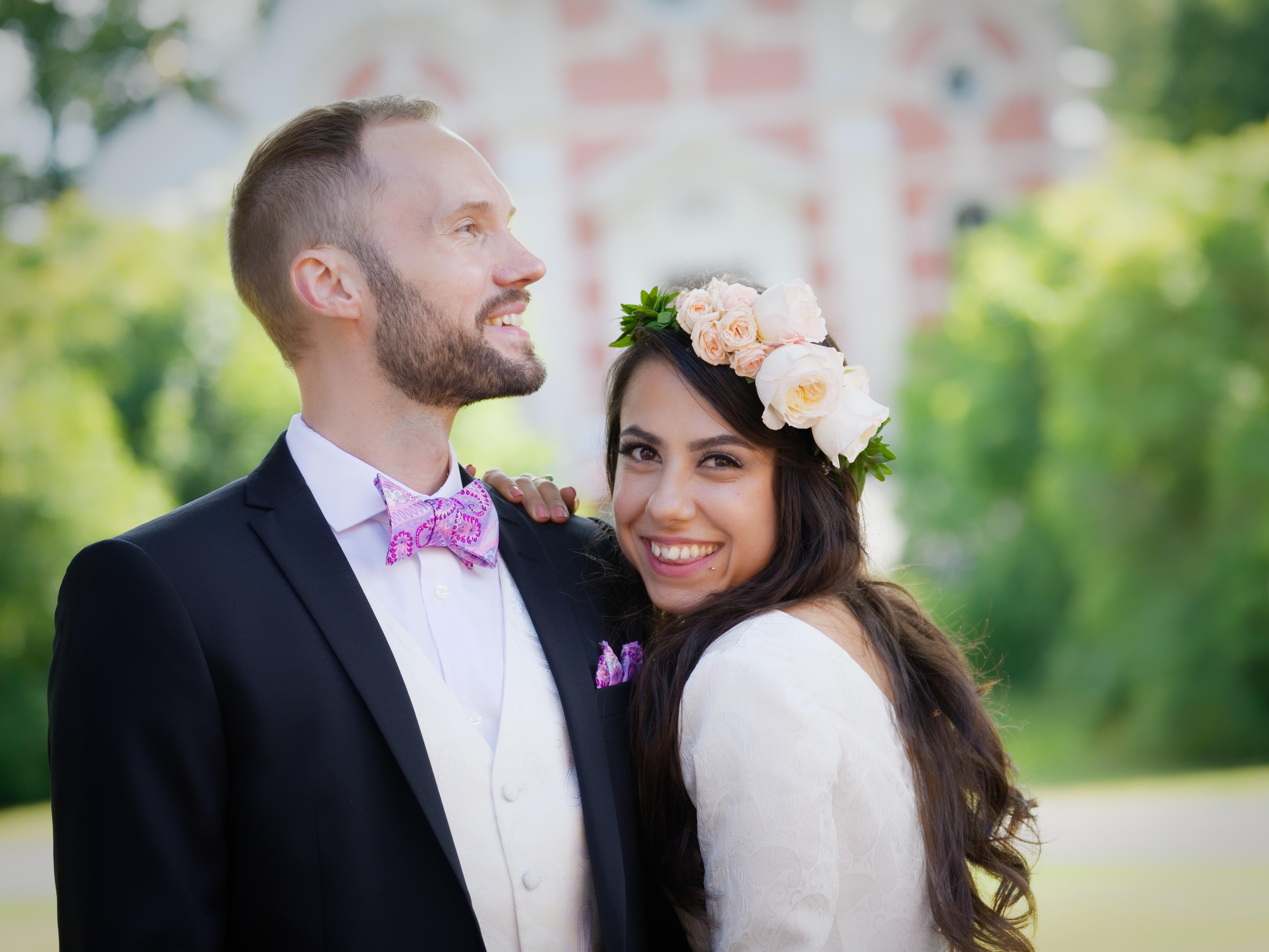 Bröllopsporträtt 1 - Mahdis & Tommy