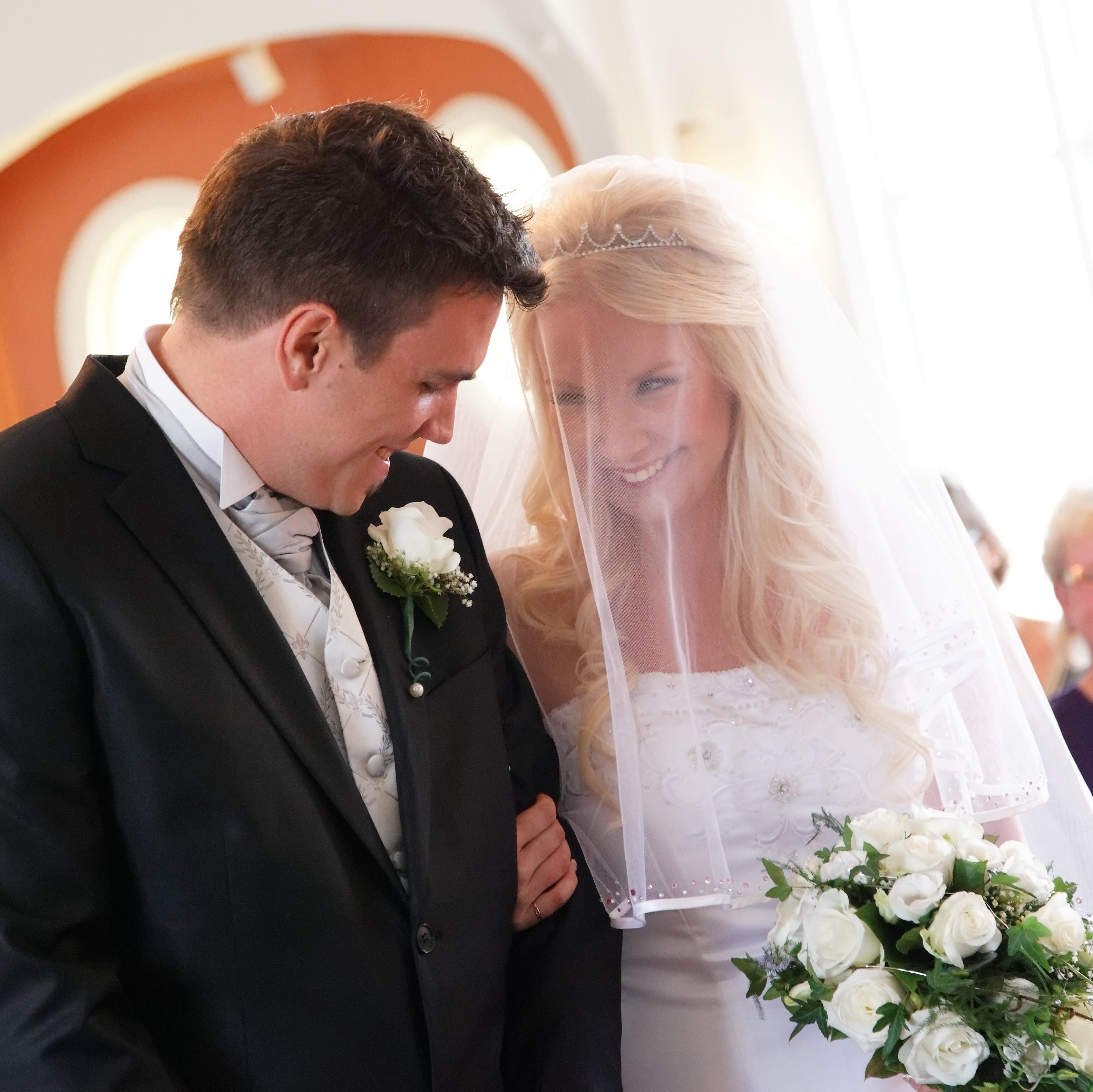 Bröllopsceremoni - Älvsjö kyrka