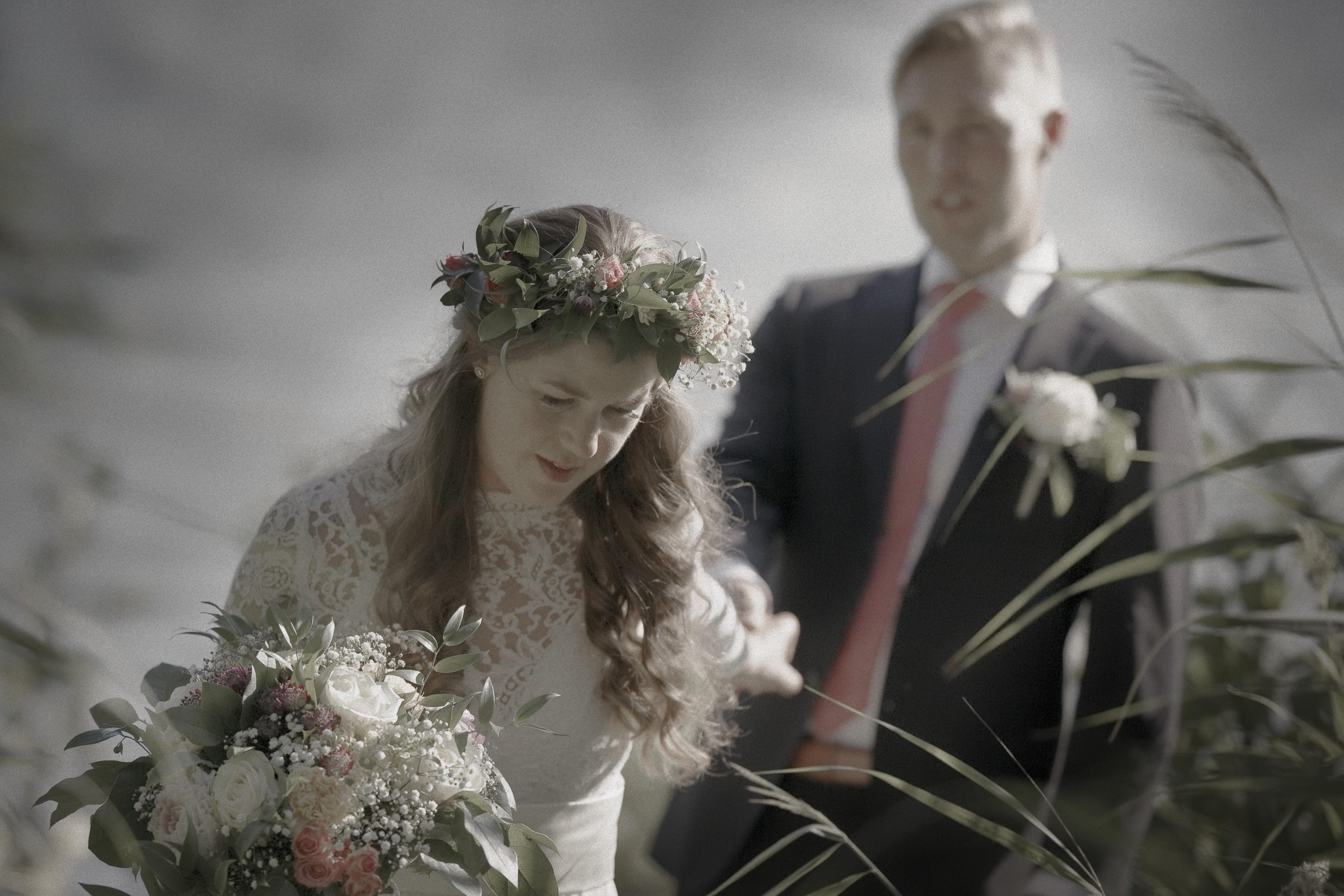 Marcus & Micaela, bröllopsporträtt 7