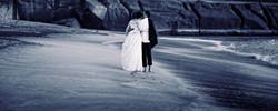Wedding Portrait: Beachwalk