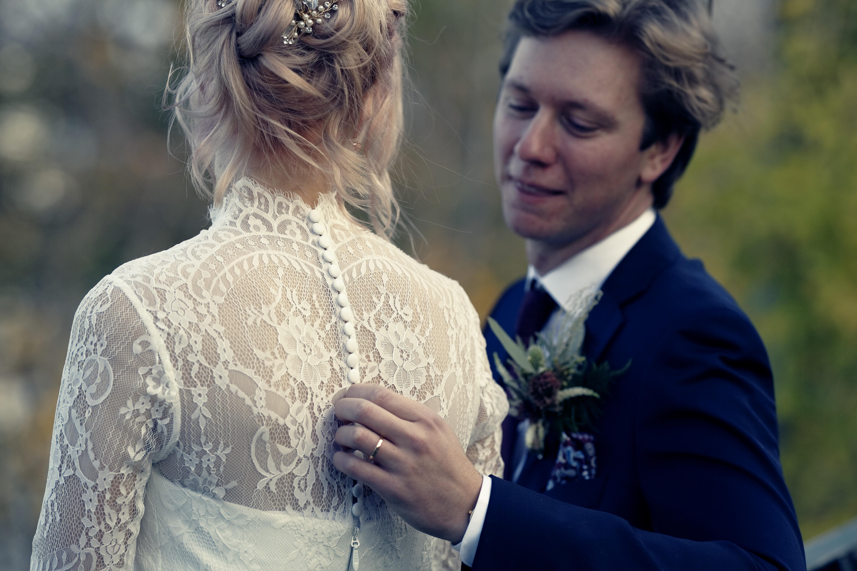 Bröllopsporträtt 6 - Ellen och Jakob