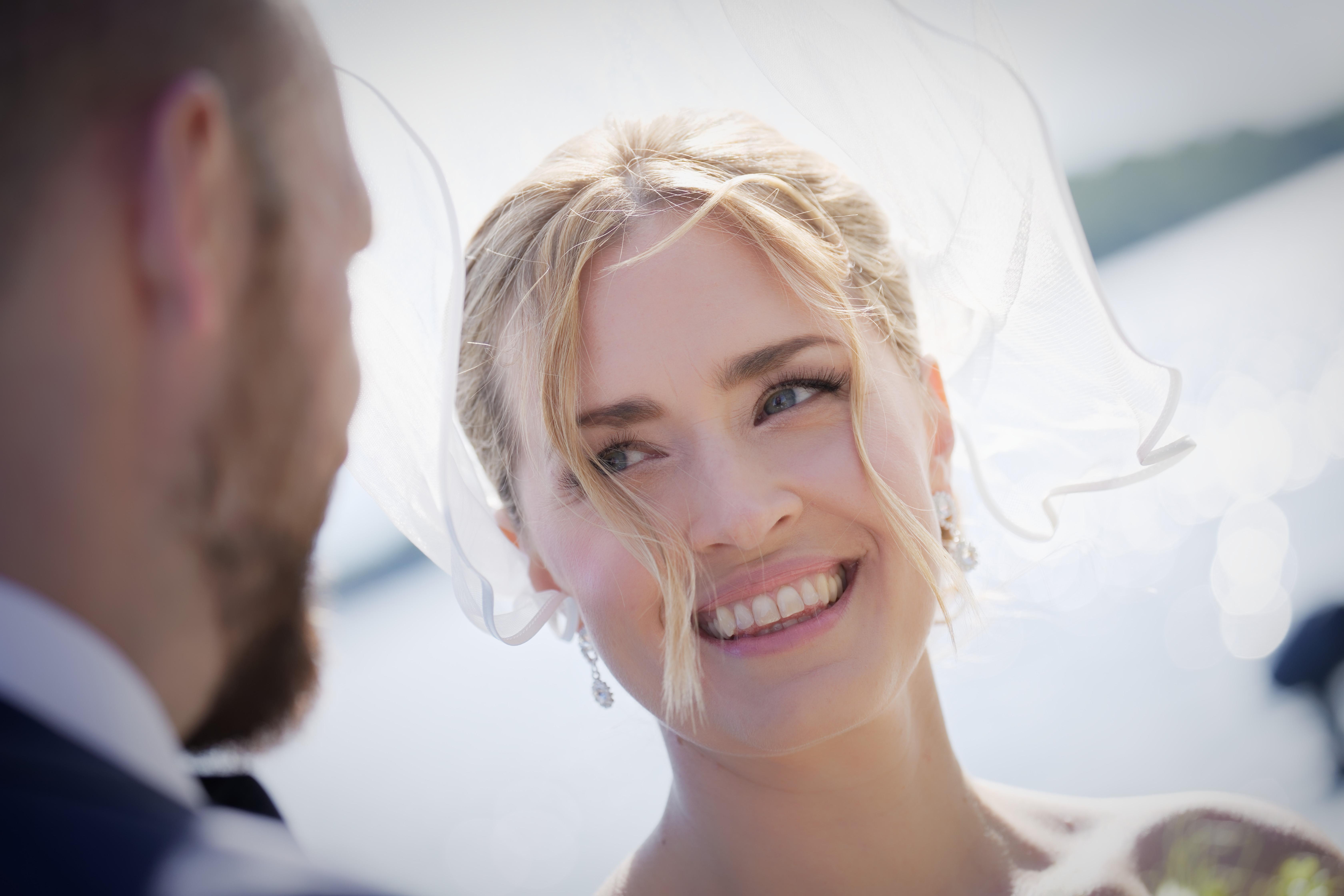 Bröllopsporträtt Ann & Chris