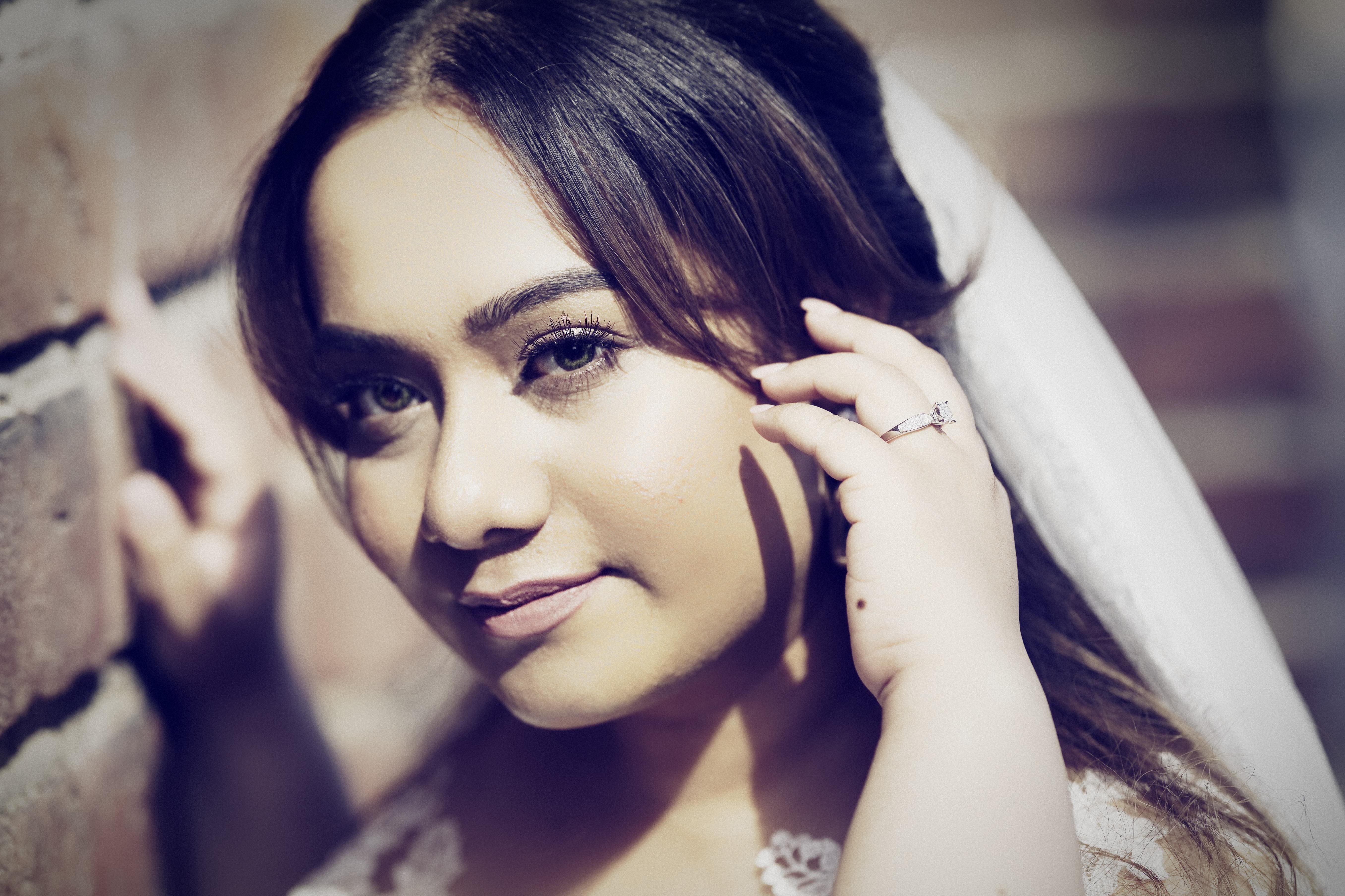 Bröllopsporträtt 1 - Priyanka m ring