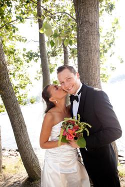Bröllopsporträtt - Rebecka o Fredrik