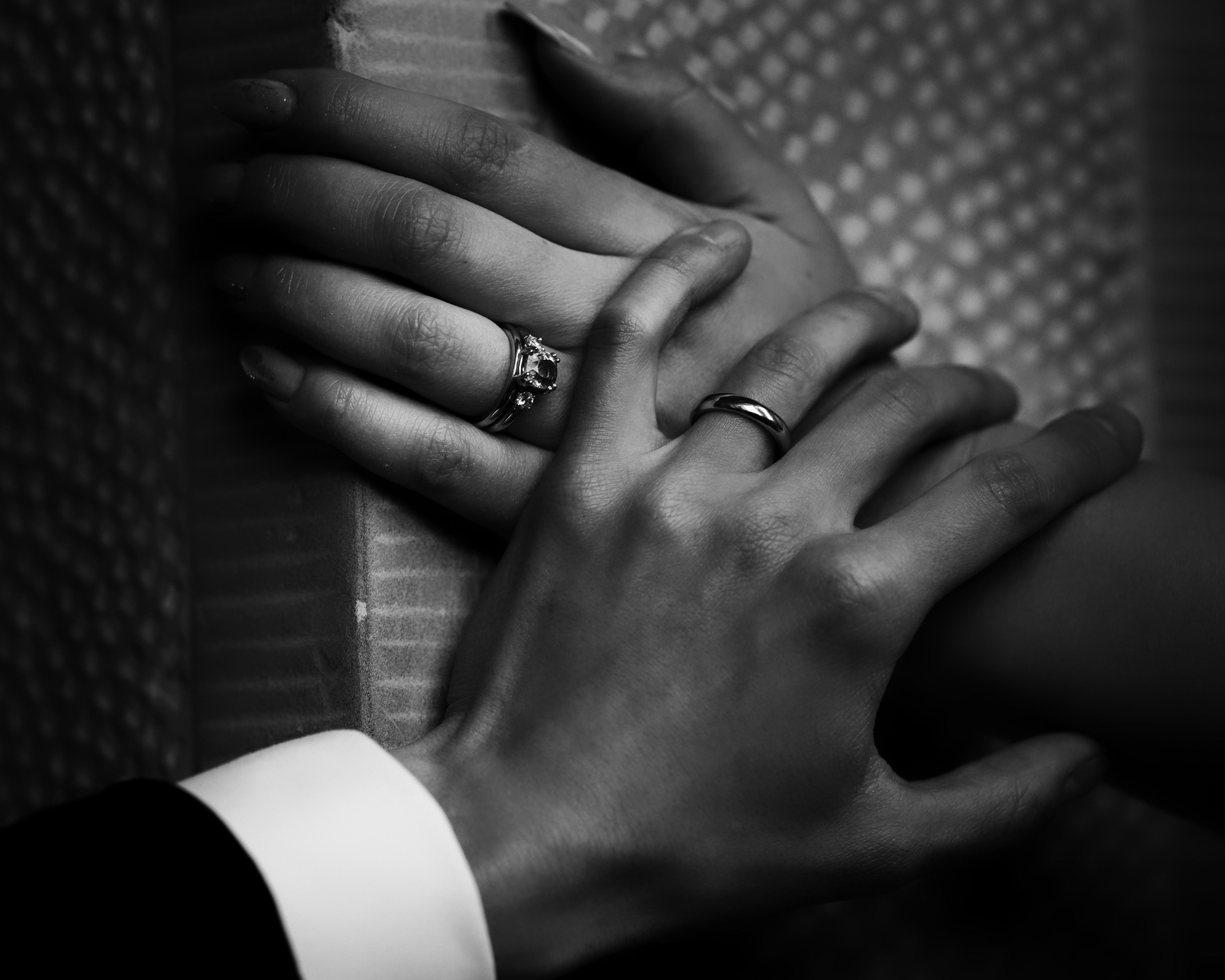 Bröllopsringar, bröllopsporträtt 10