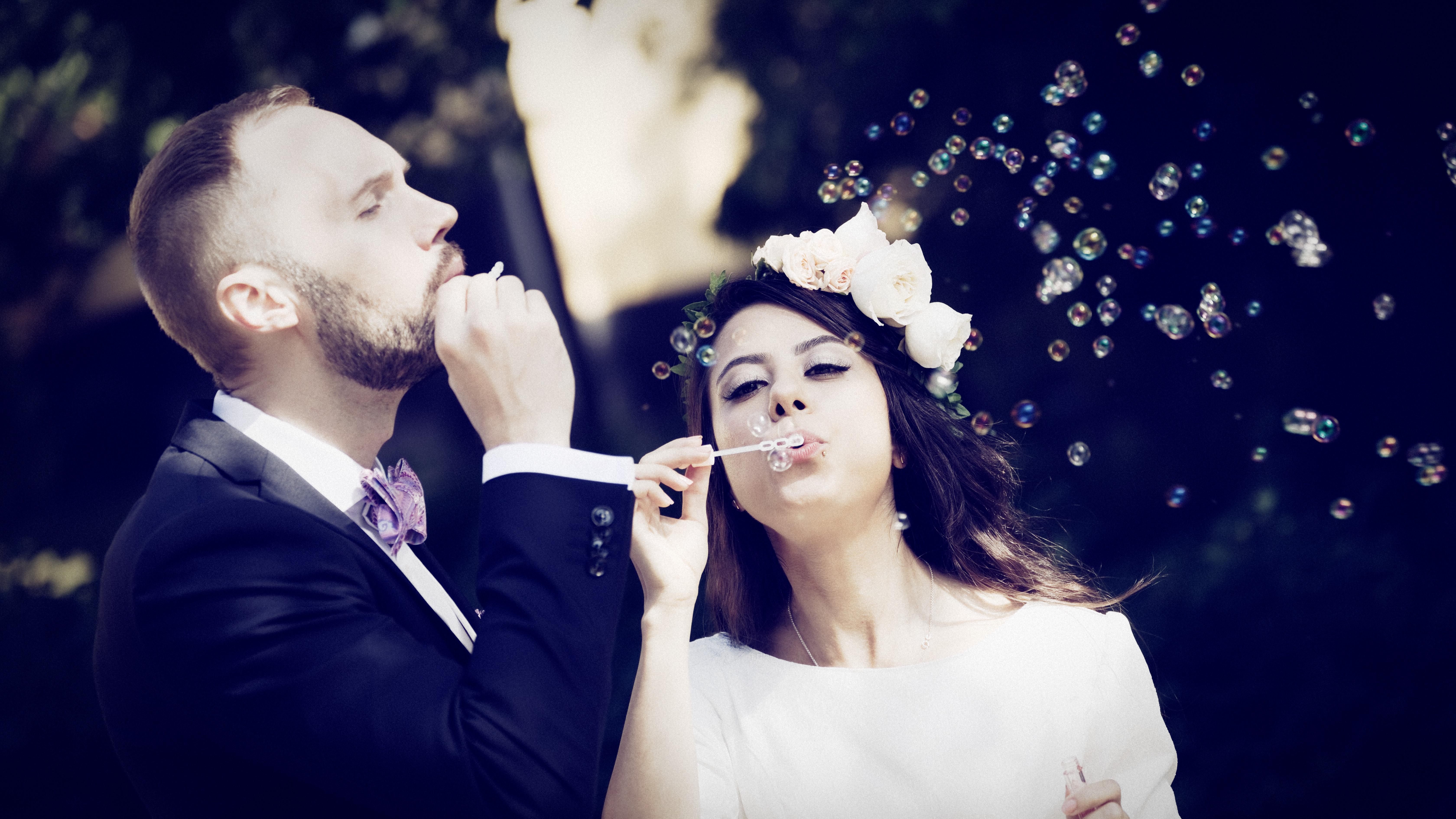 Bröllopsporträtt 3 - Mahdis & Tommy
