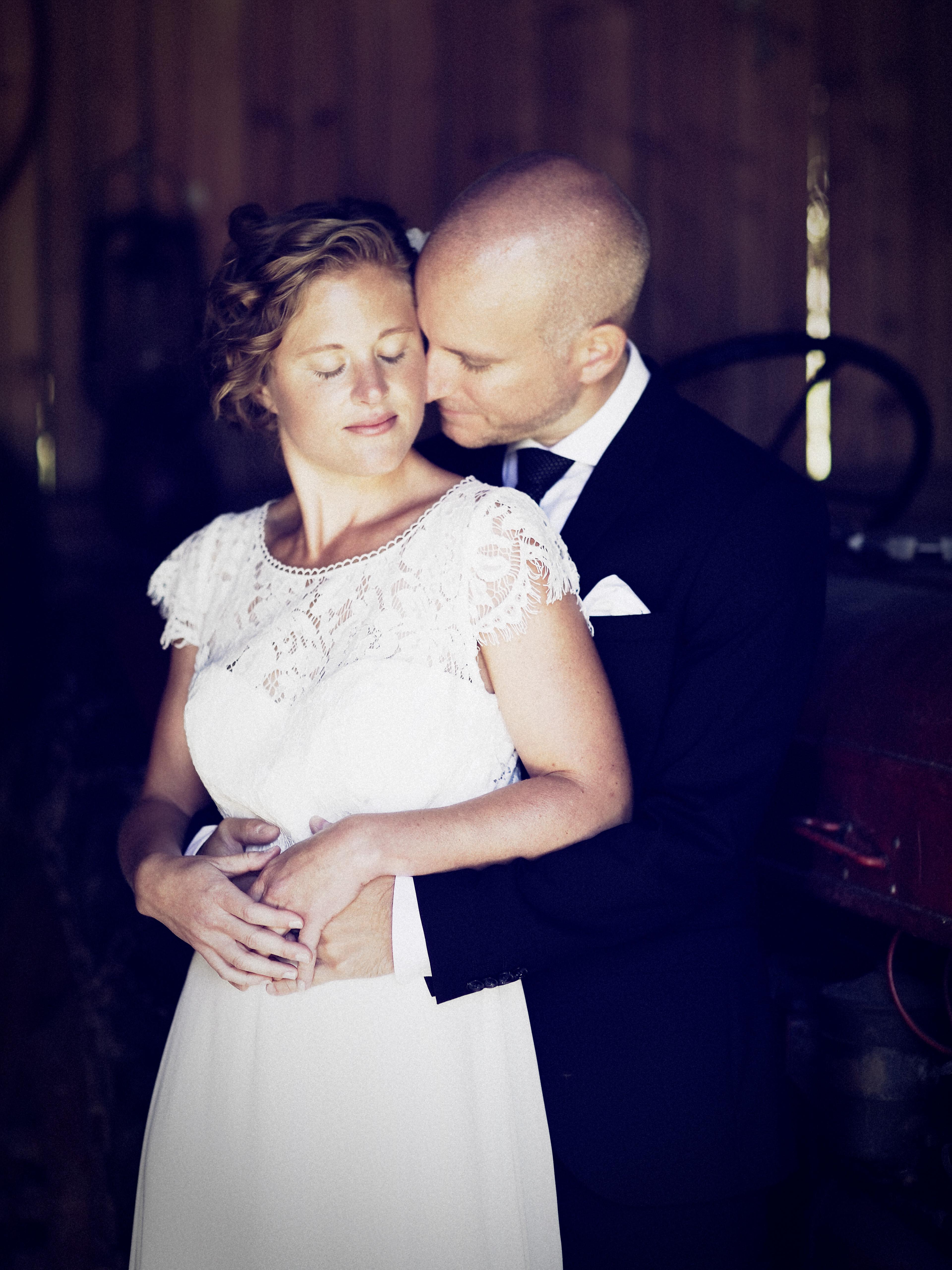 Bröllopsporträtt Linda & Magnus