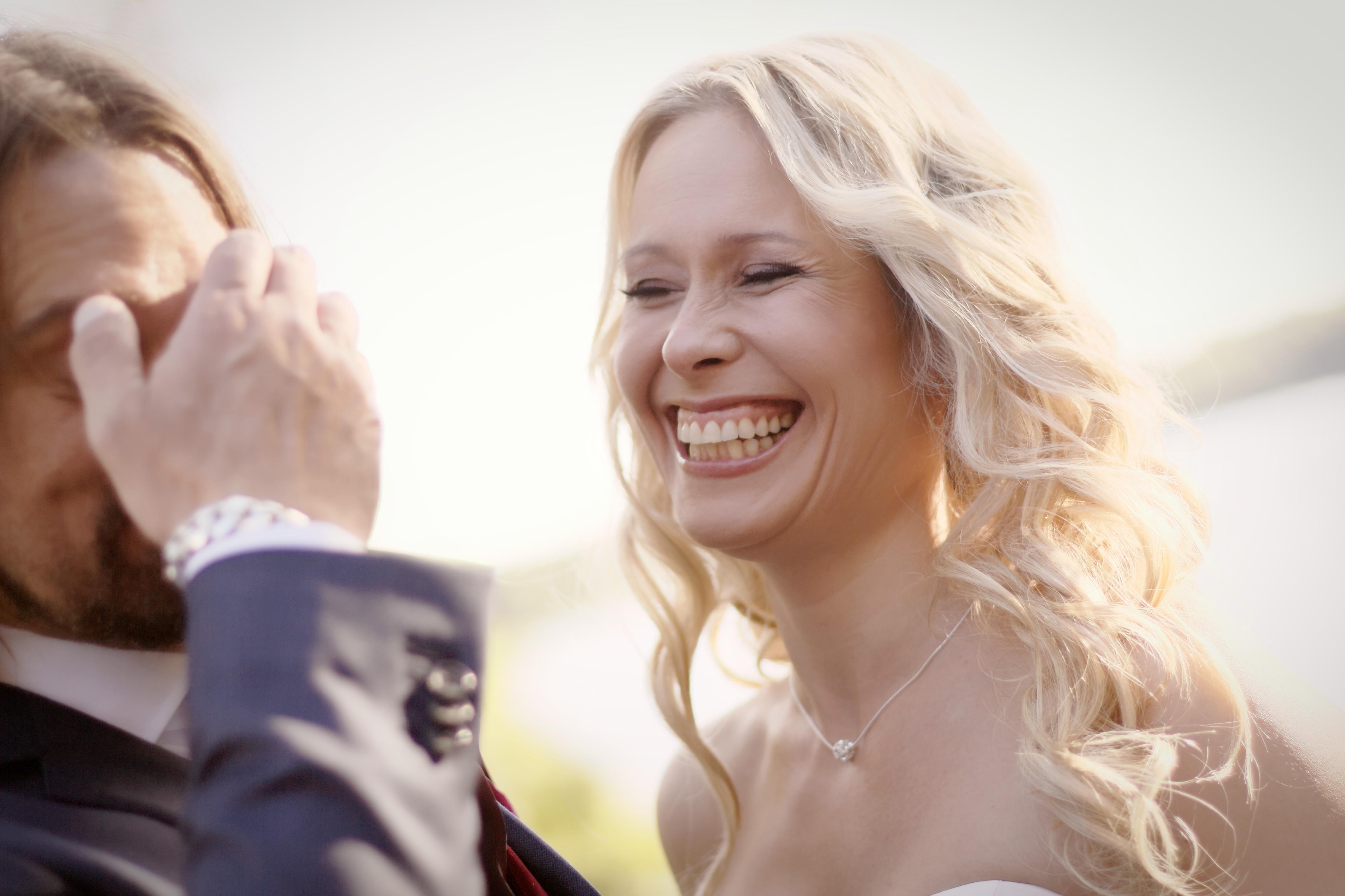 Bröllopsporträtt Carola & Fredrik 2