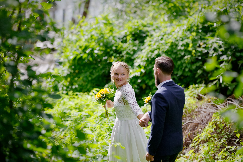 Bröllopsporträtt 1 - Robin o Linnéa