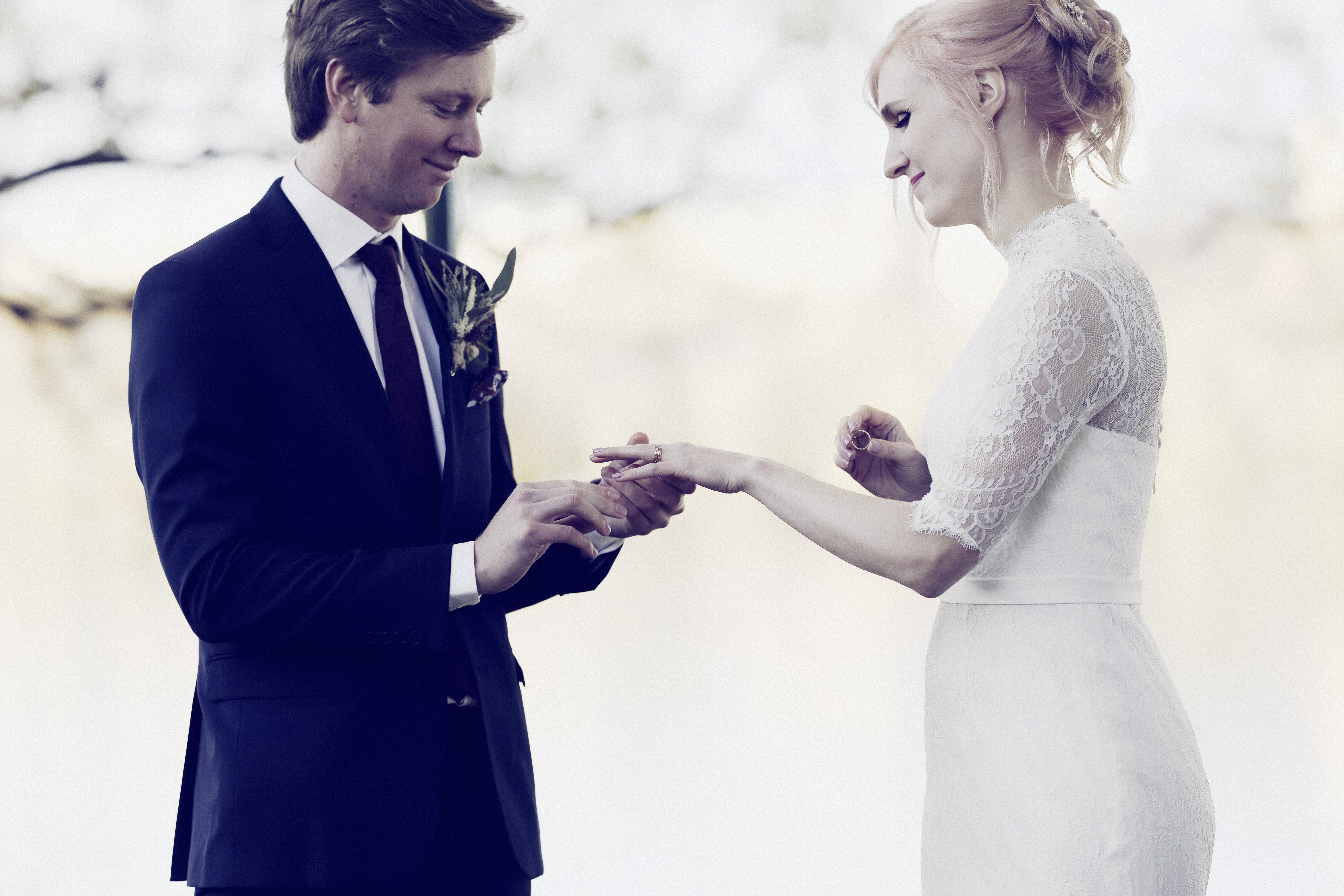 Vigselceremoni 2, höstbröllop