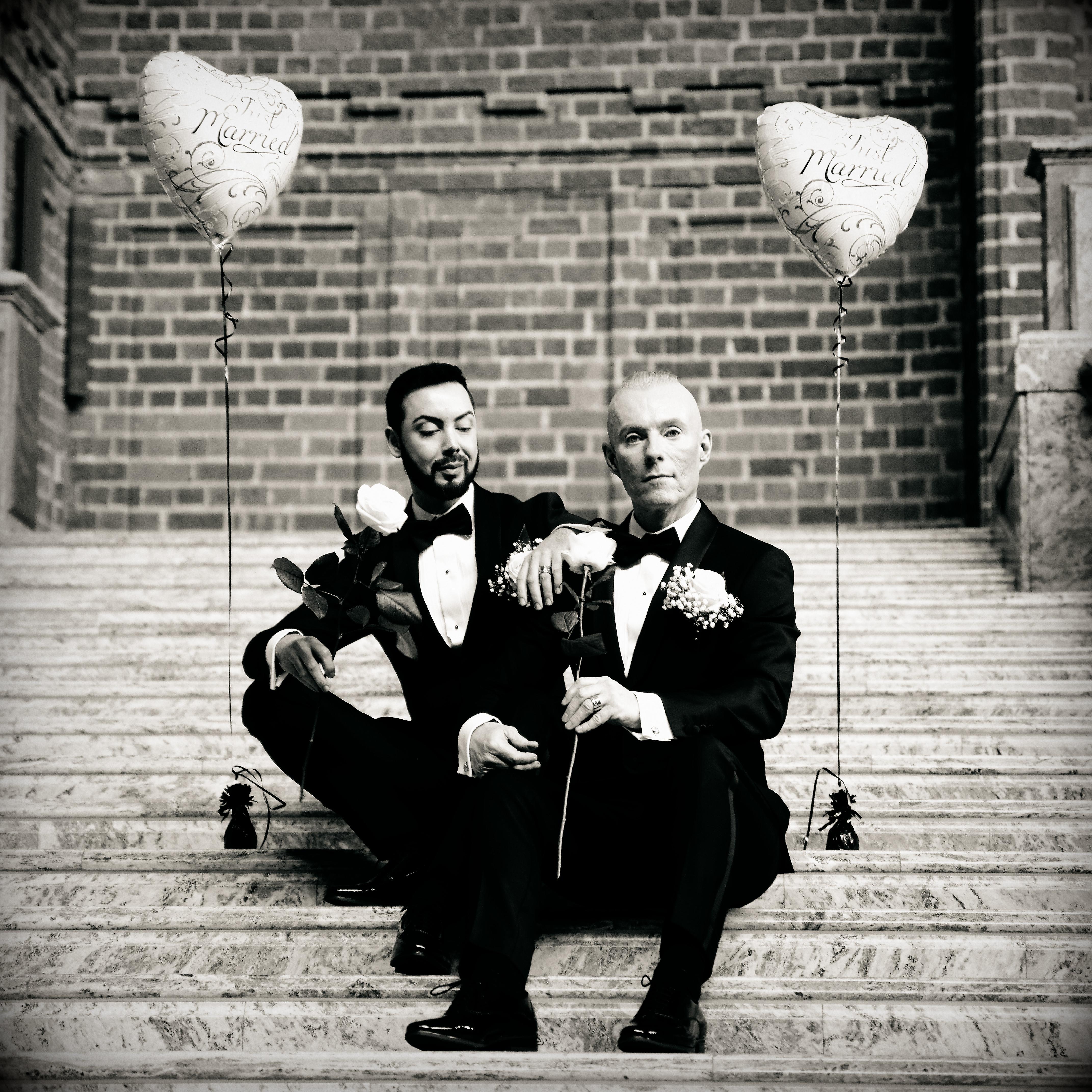 Bröllopsporträtt 6 - Javad och Peter