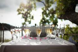 Bröllop - champagne