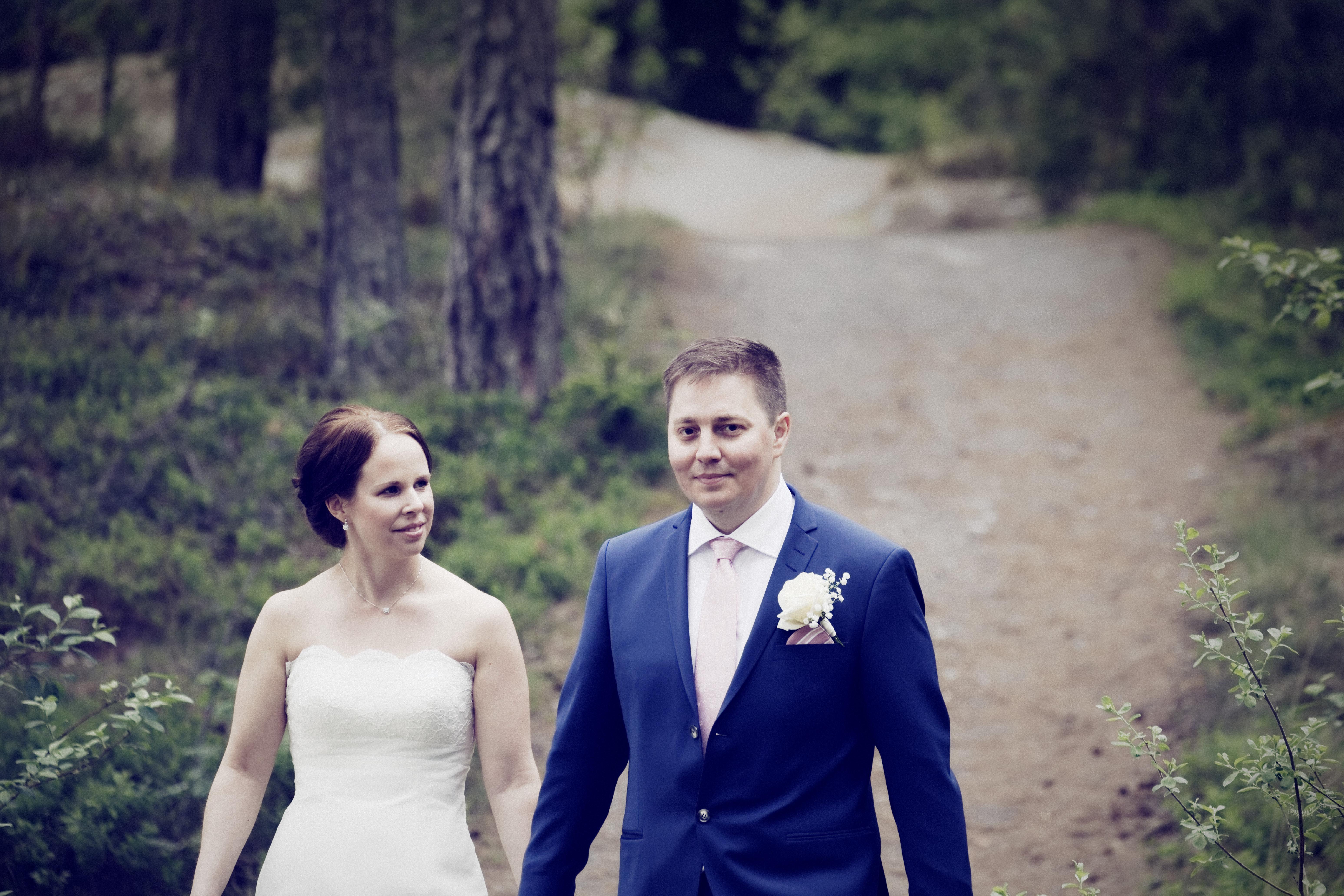 Bröllopsporträtt 5: Magnus och Maja