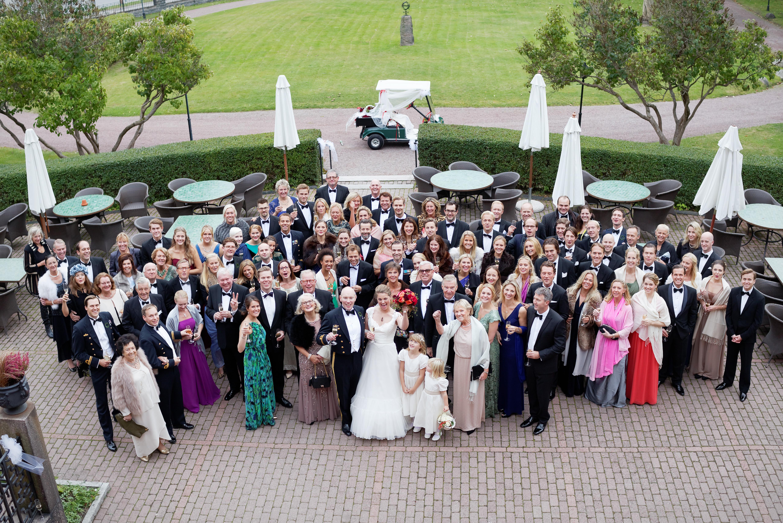 Bröllop - gruppbild 2