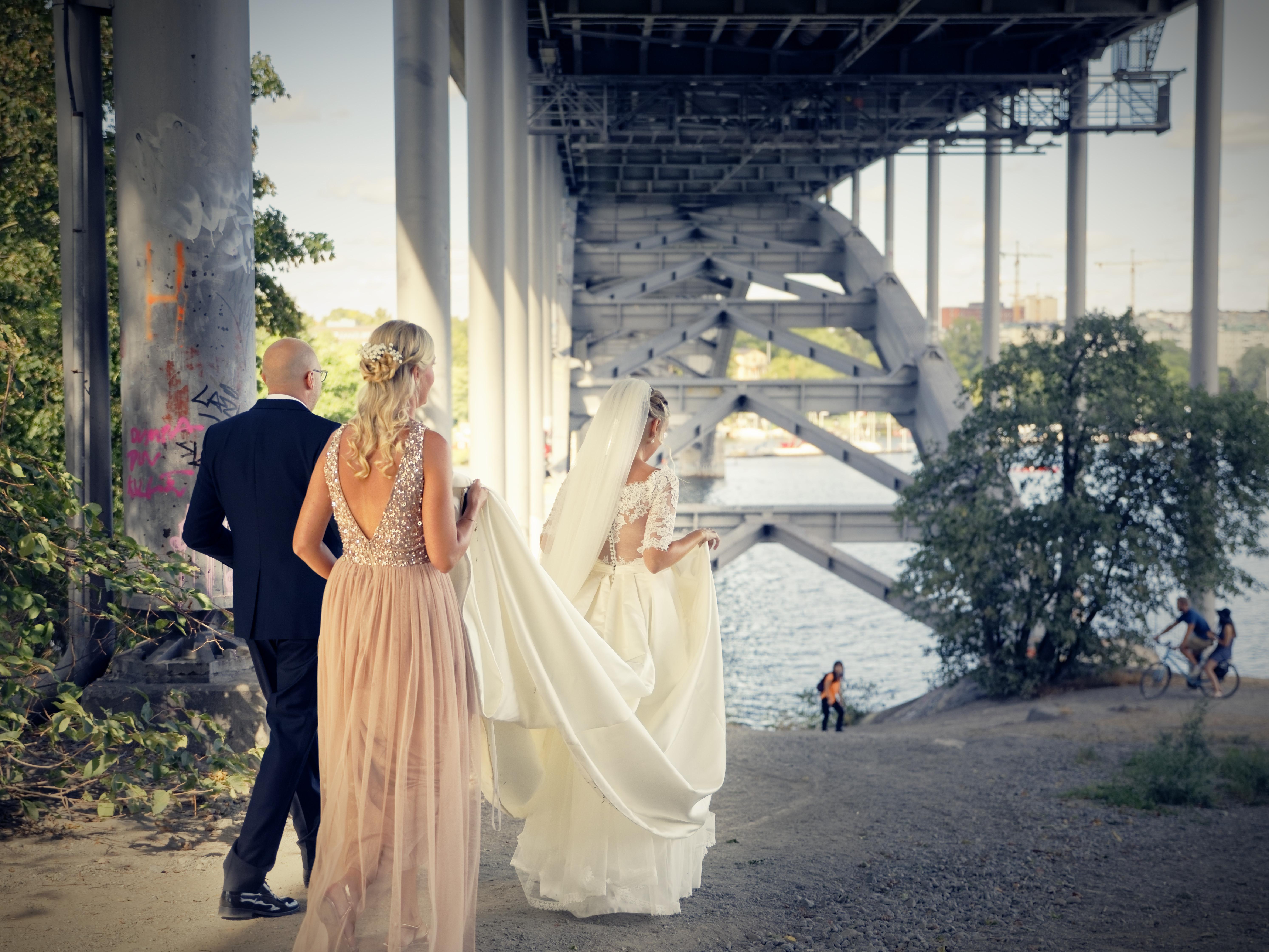 Jens och Elin - bröllopsporträtt 2