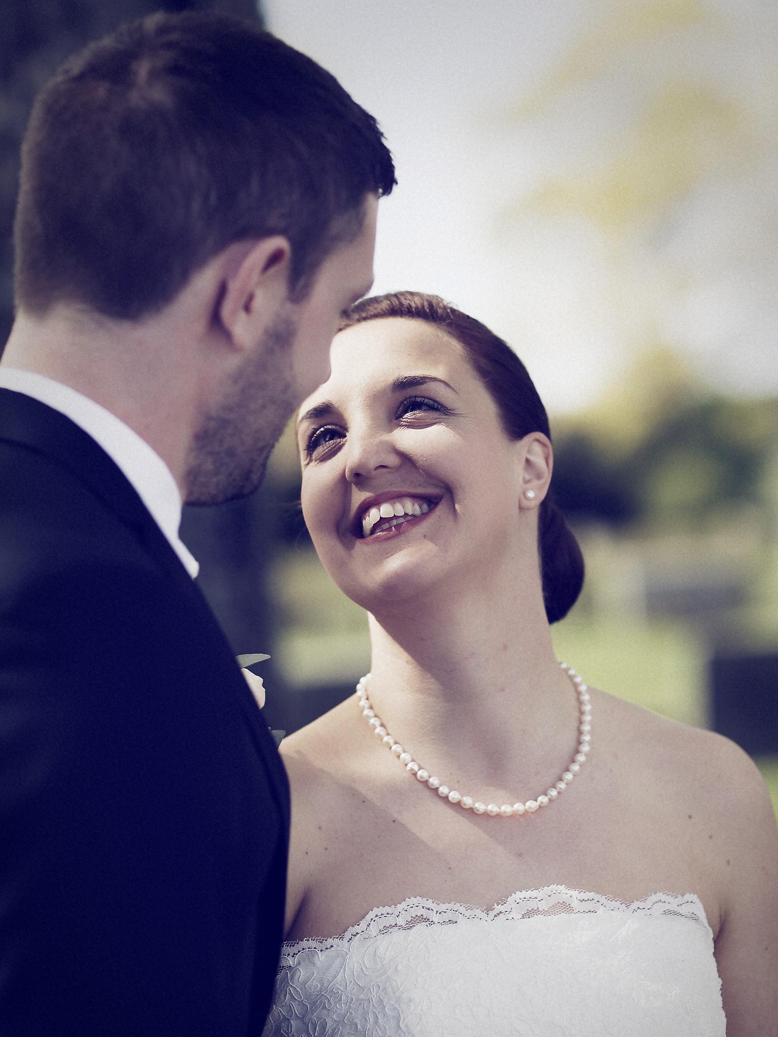Bröllopsporträtt 2: Caroline/Tobias