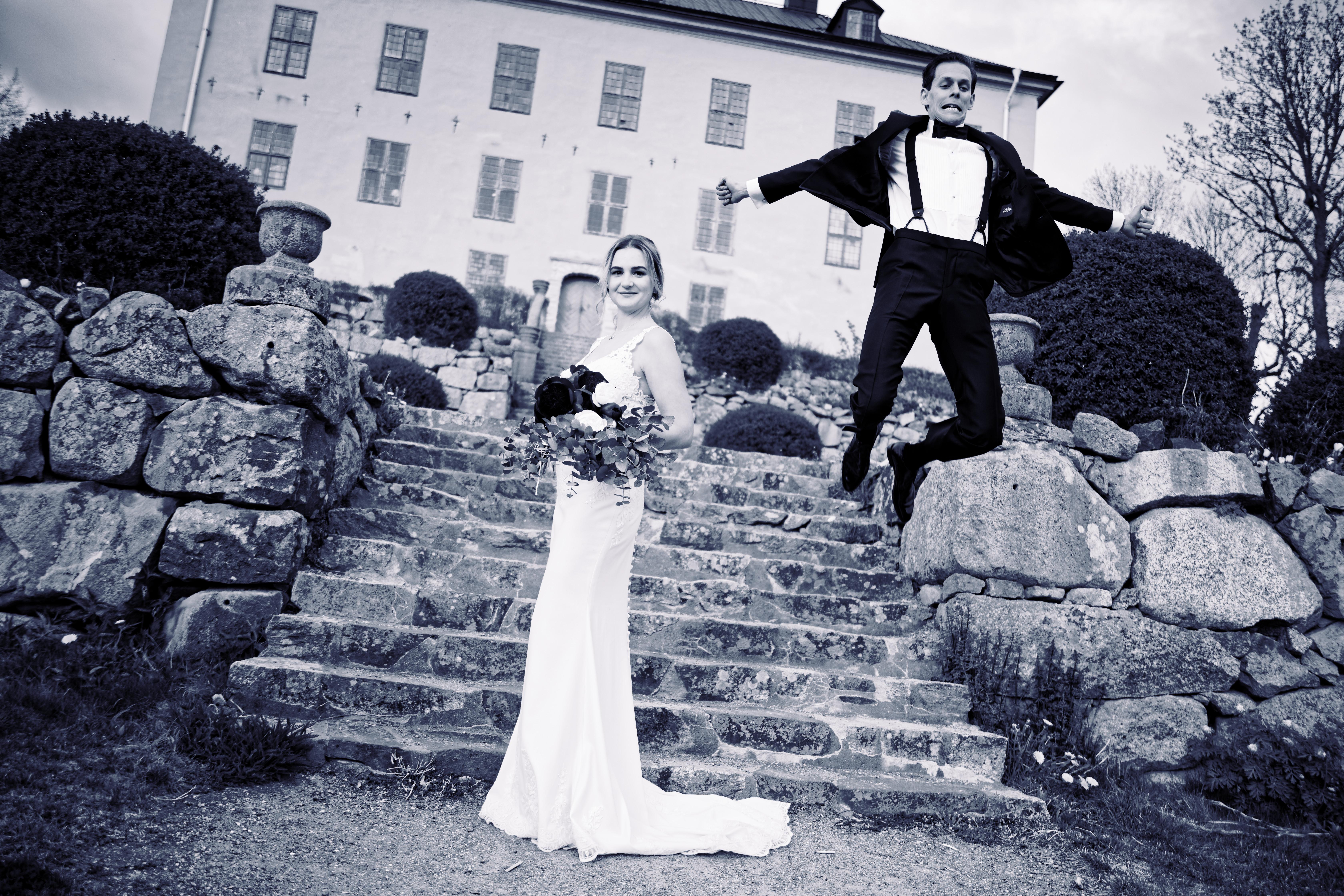 Nanna & Alexander, bröllopsporträtt