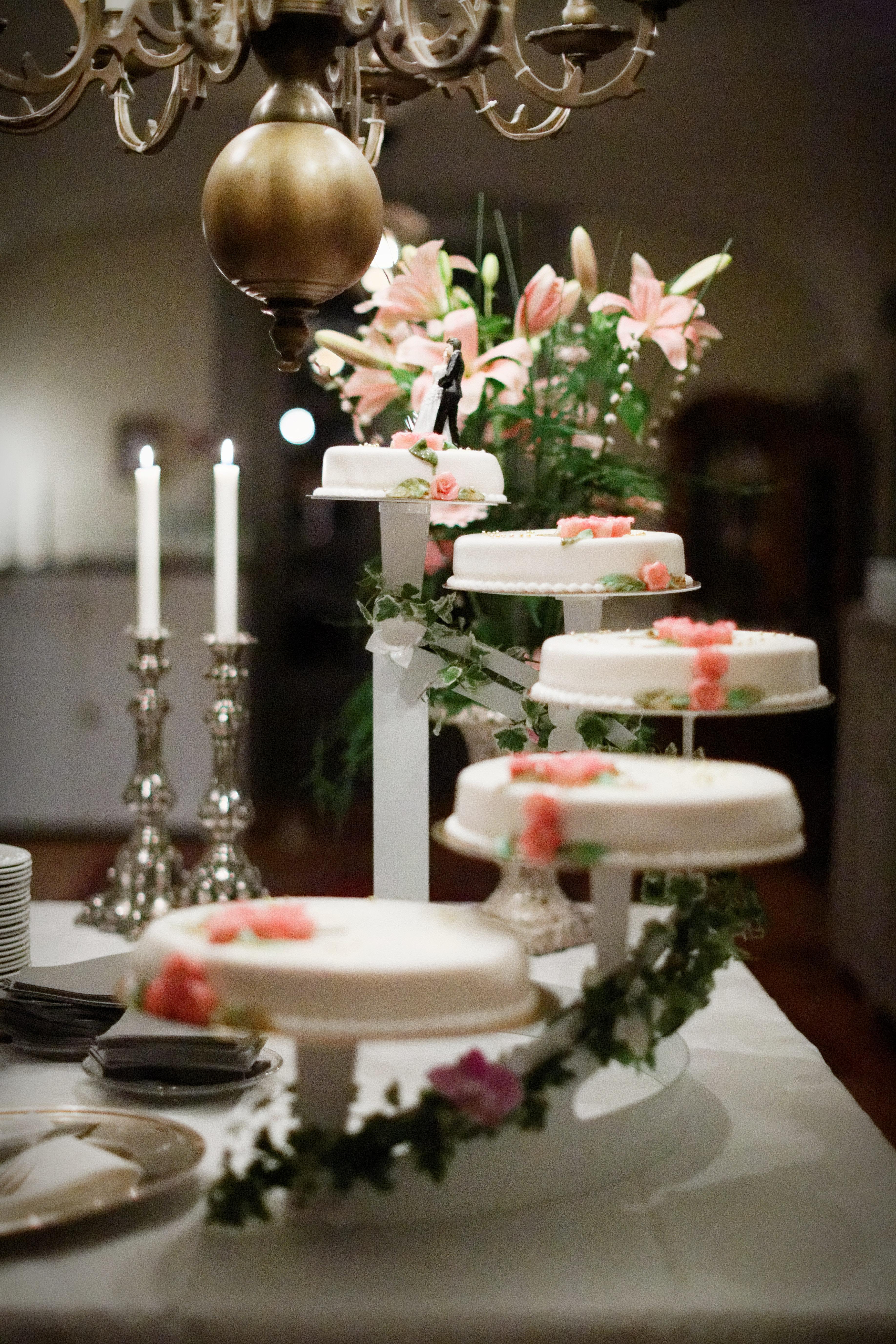 Bröllop - tårtan