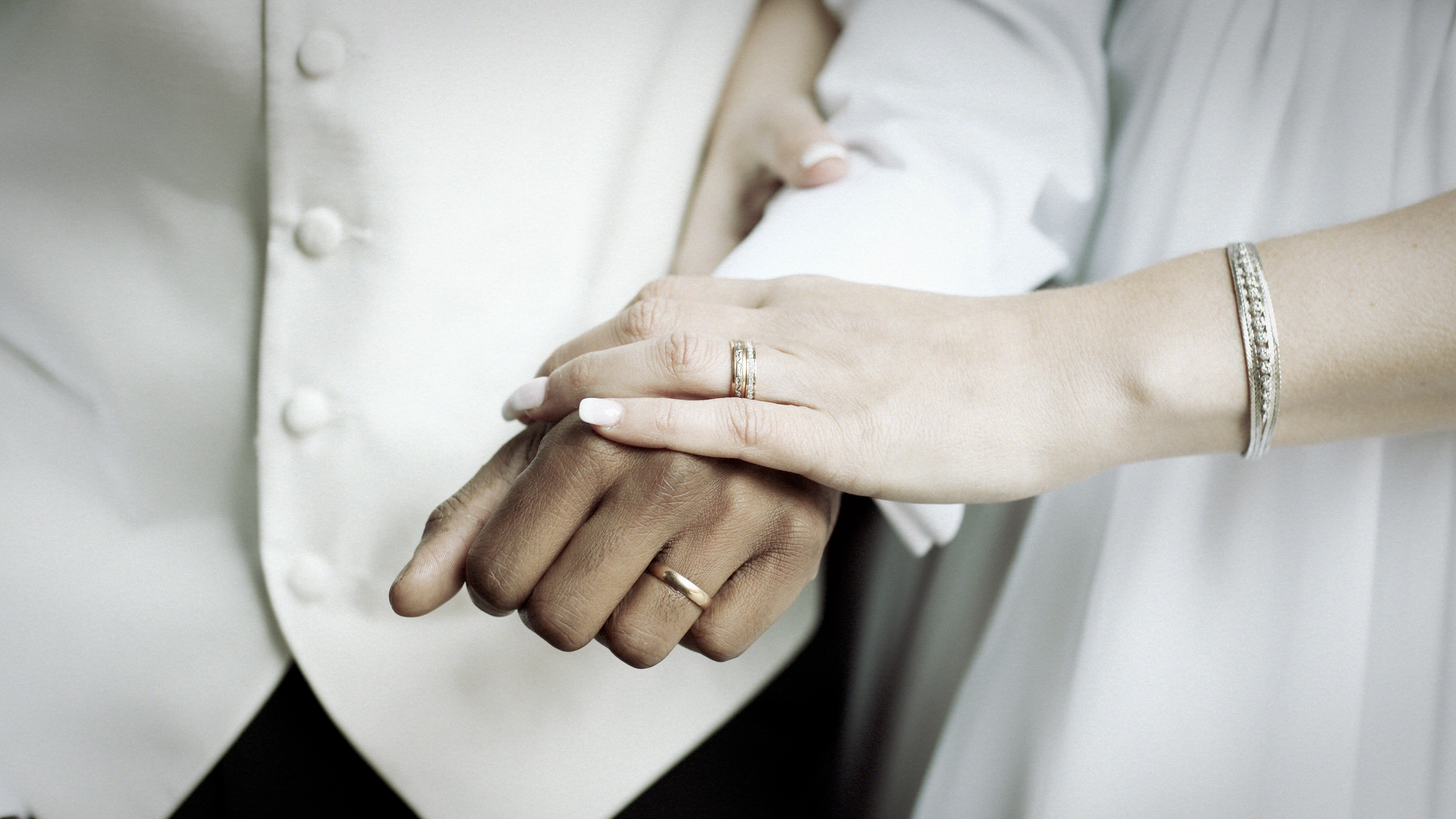 Bröllopsporträtt 4 - ringarna