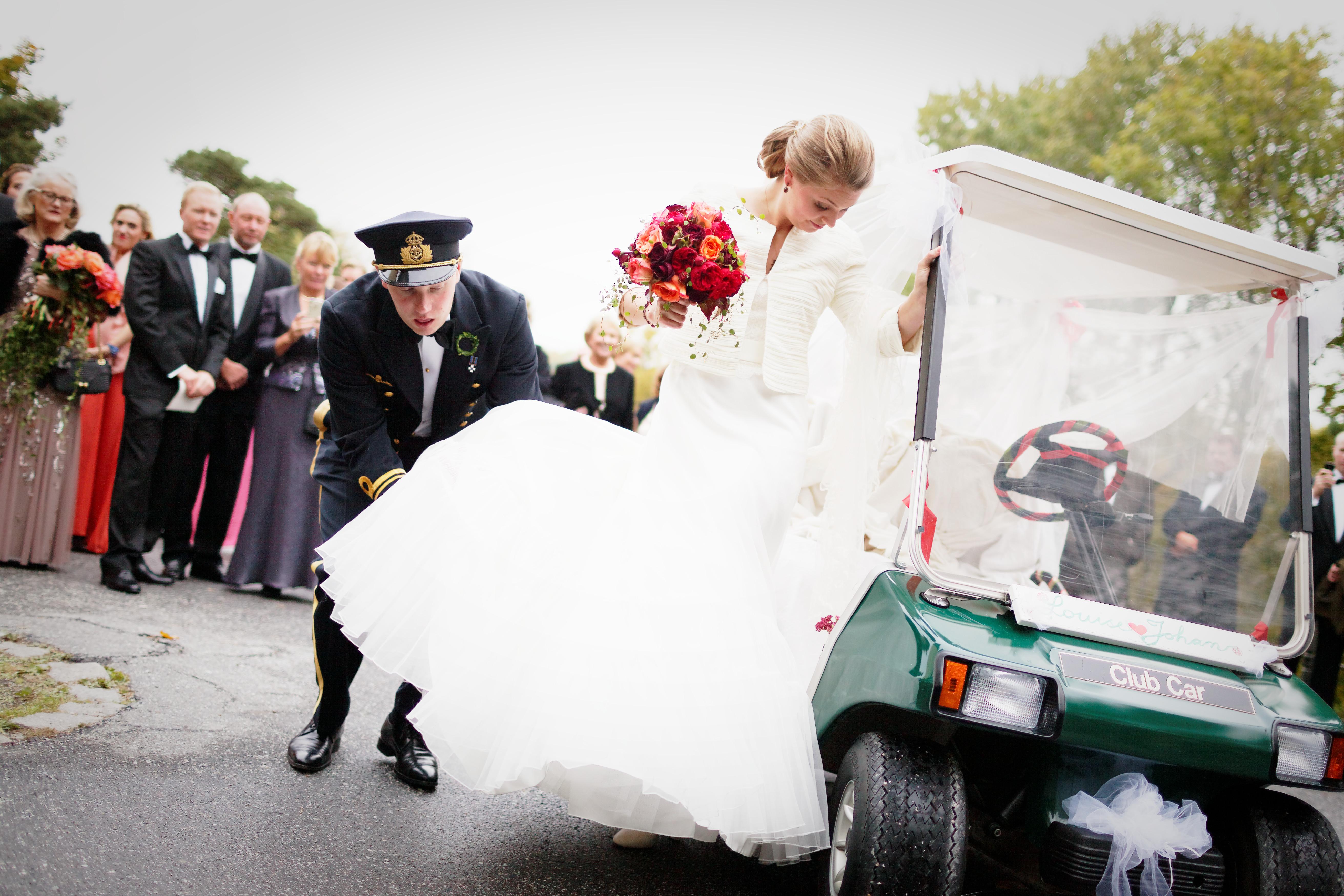 Bröllop - bilen