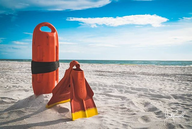 Lifeguard Equipment Clearwater Beach Florida