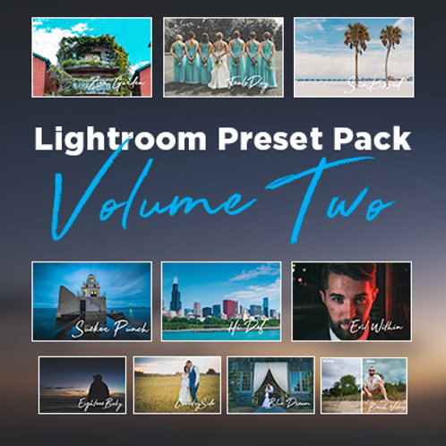 Lightroom Preset Pack Volume 2