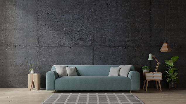 sofa-on-the-in-modern-living-room-the-concrete-wal-FMKD7BQ.jpg