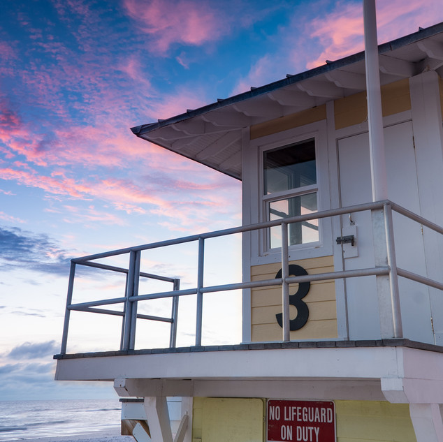 Lifeguard Tower Clearwater Beach Florida